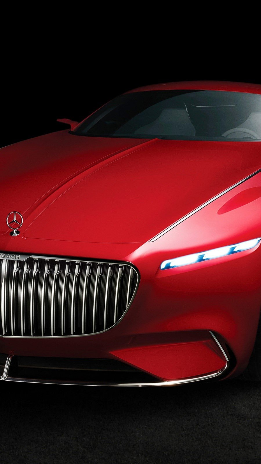Wallpaper Vision Mercedes Maybach 6 Vertical