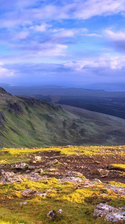 Fondos de pantalla Vista panoramica de Isla de Skye Vertical