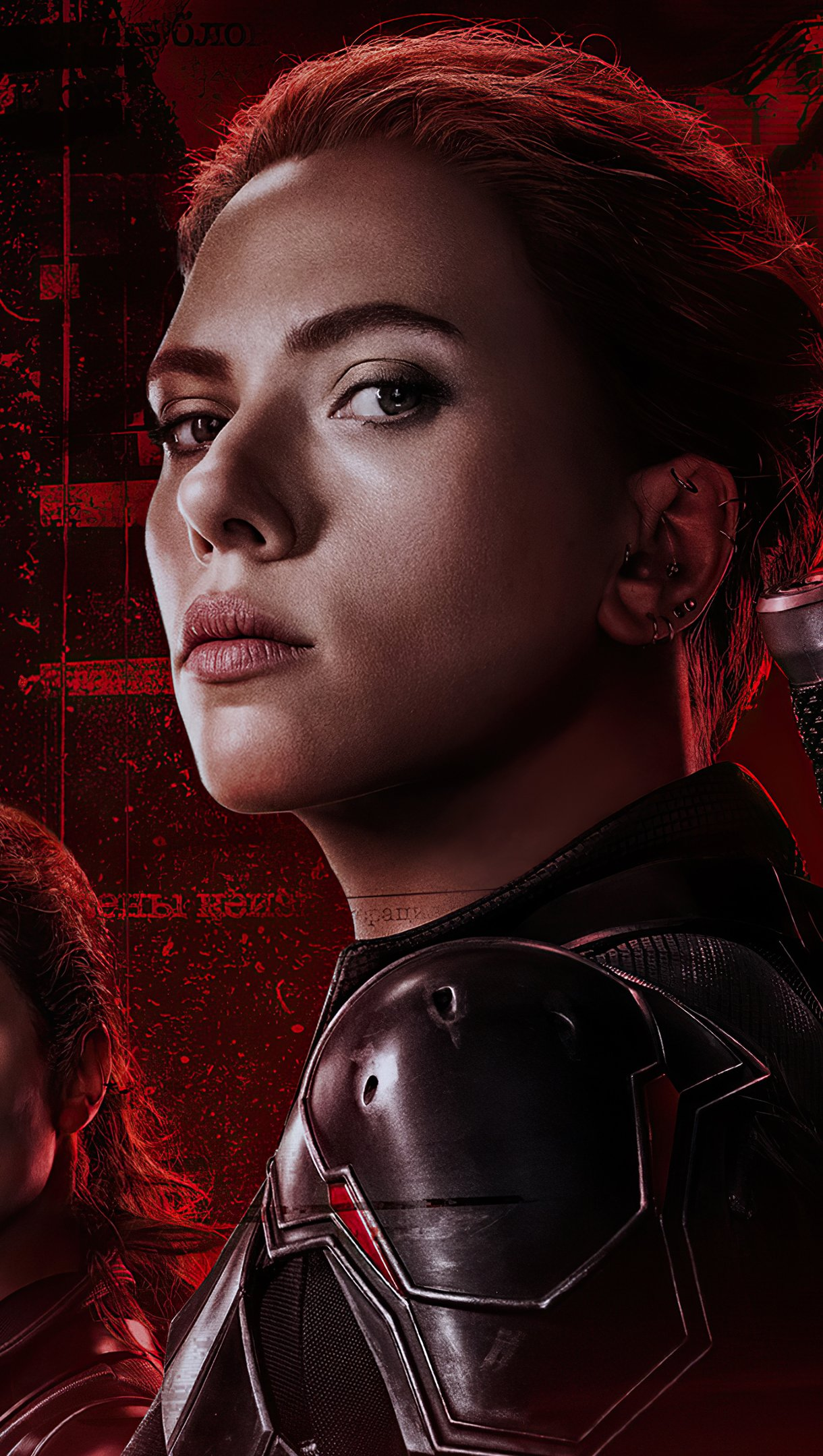 Wallpaper Black Widow Movie 2021 Vertical