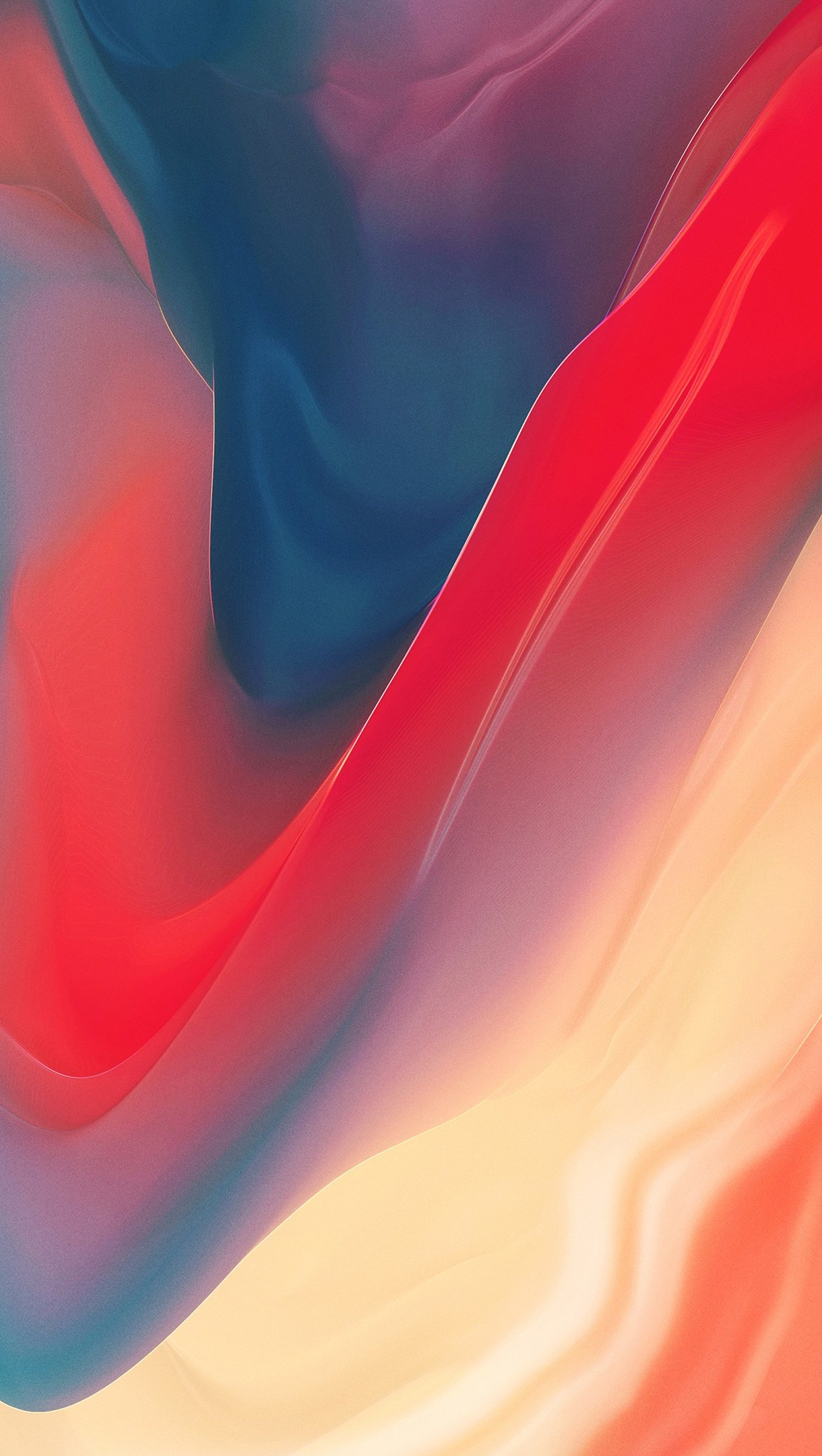 Fondos de pantalla Volcan roja abstracta Vertical