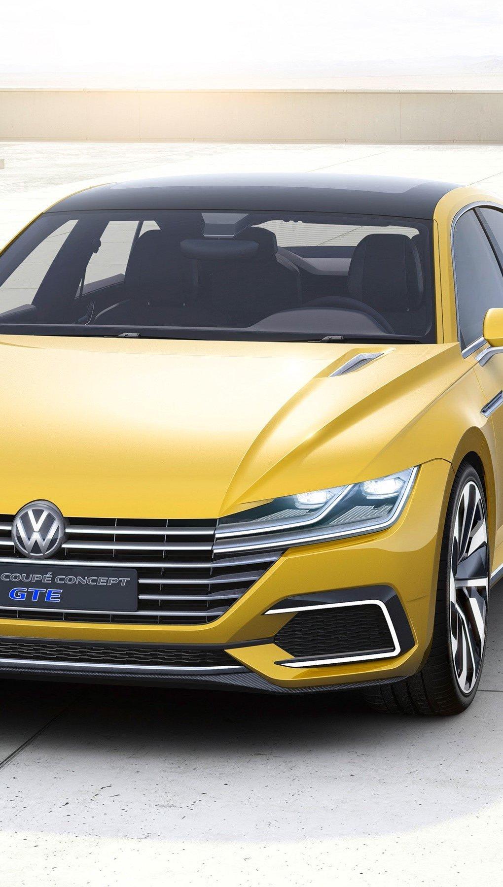 Wallpaper Volkswagen Sport Coupe Concept GTE Vertical