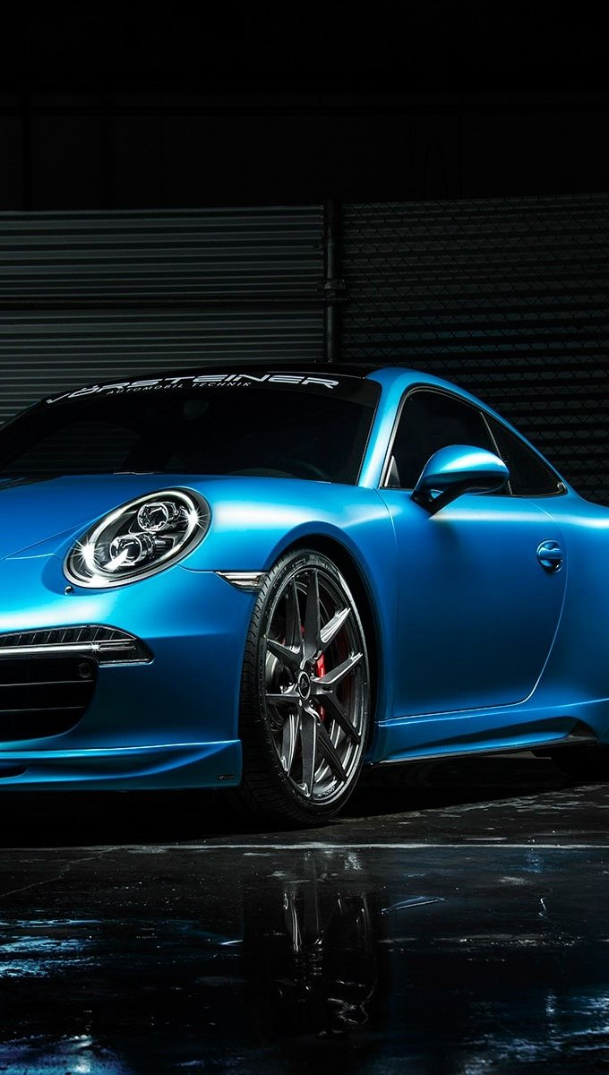 Wallpaper Vorsteiner Porsche 911 Vertical