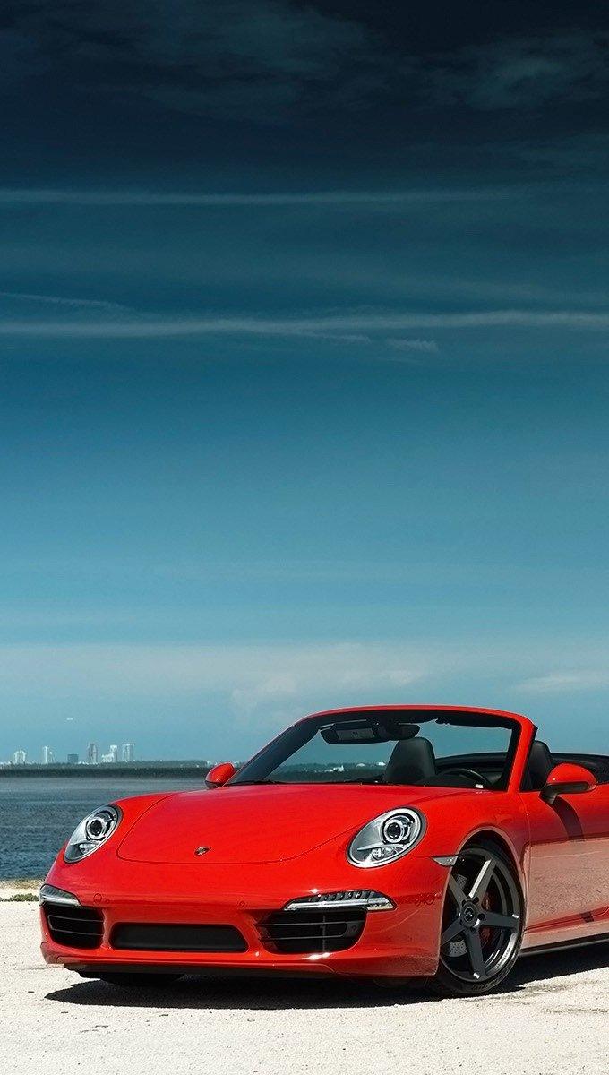 Wallpaper Vorsteiner Porsche 911 Carrera 4S VFF 104 Vertical