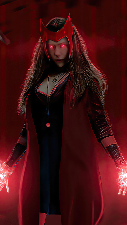 Fondos de pantalla Wanda usando sus poderes Vertical