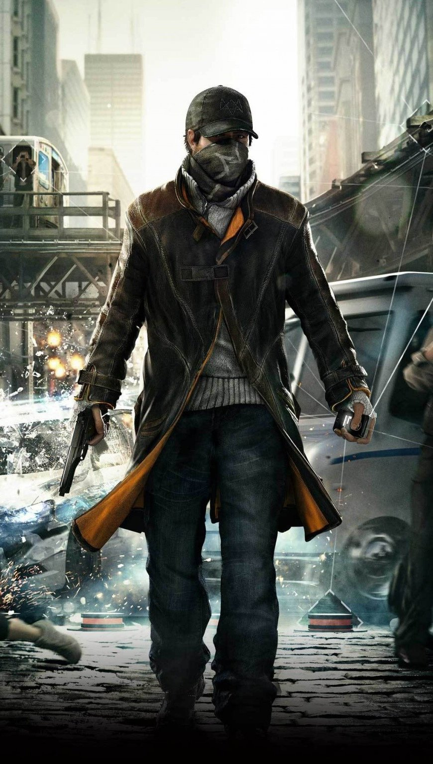 Wallpaper Watch dogs game Vertical
