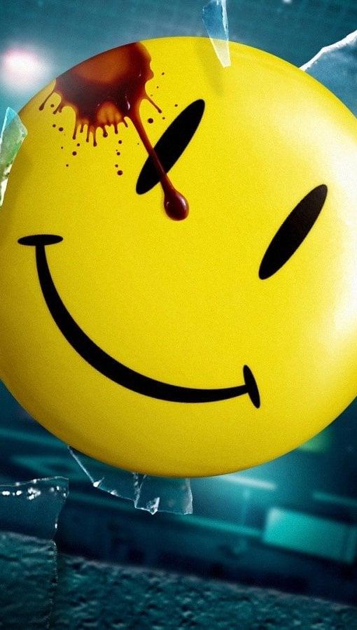 Fondos de pantalla Watchmen smiley Vertical