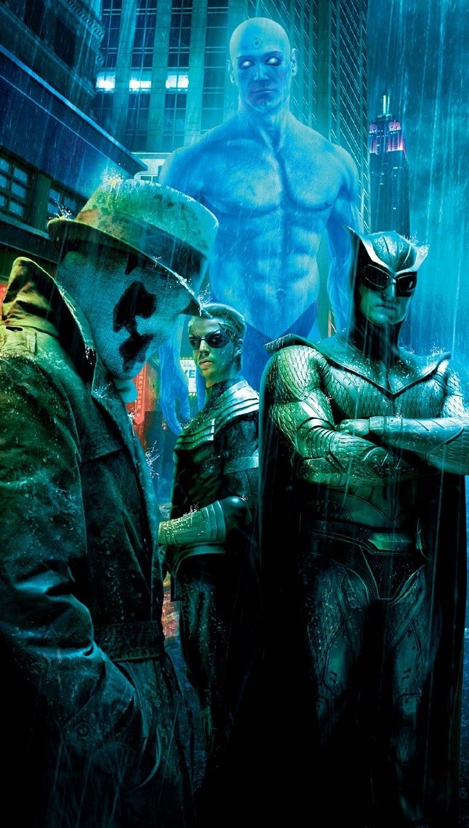 Wallpaper Who watch the Watchmen Vertical