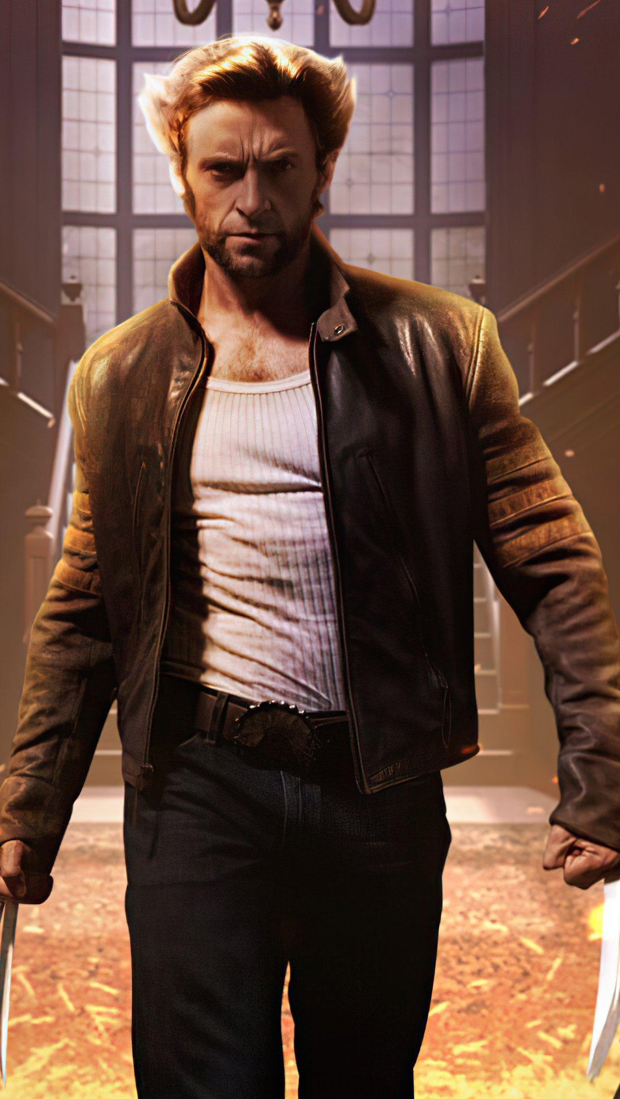 Fondos de pantalla Wolverine Cable y Deadpool Vertical