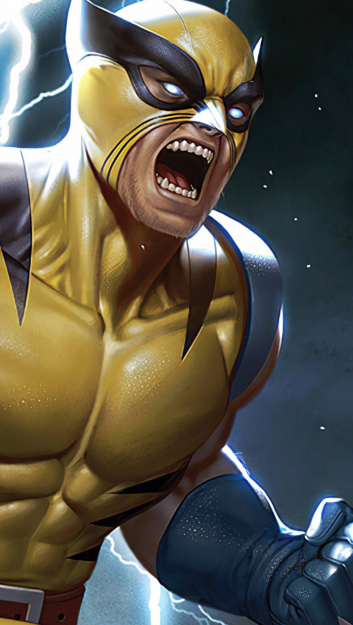 Fondos de pantalla Wolverine Fanart Vertical