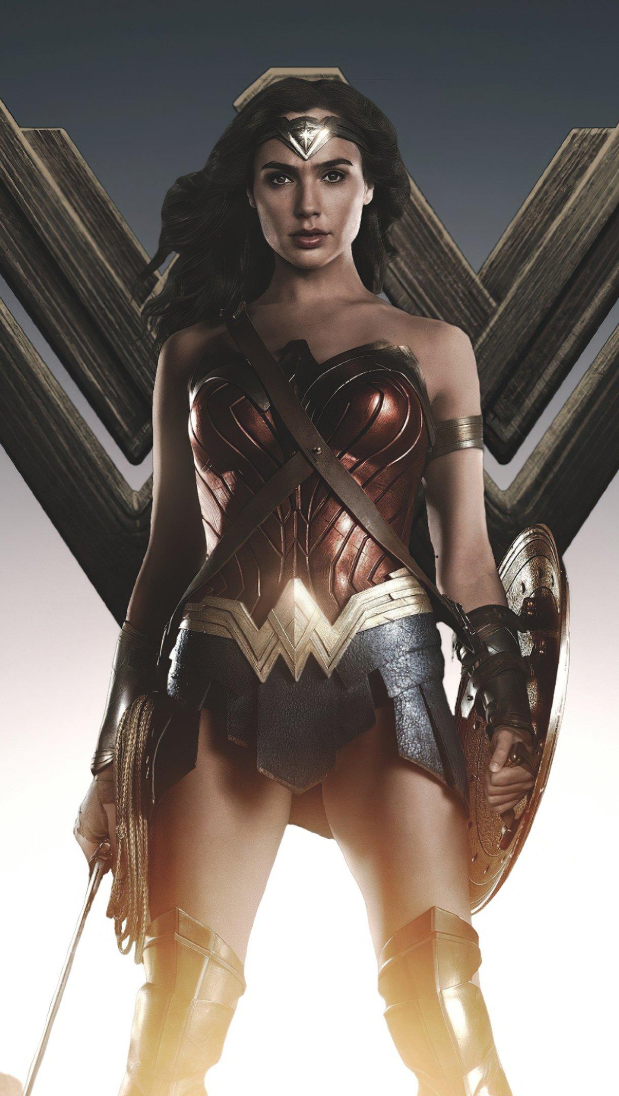 Wallpaper Wonder Woman 84 Vertical