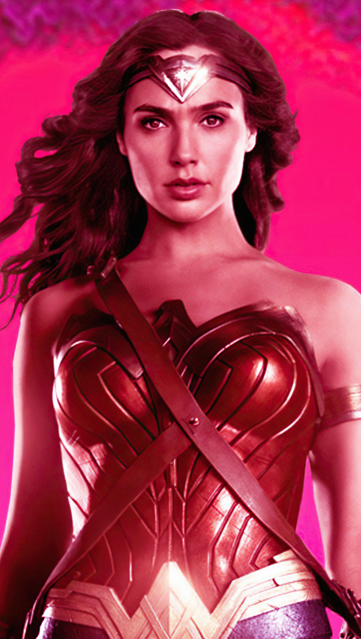 Wallpaper Wonder Woman 84 Retro Vertical