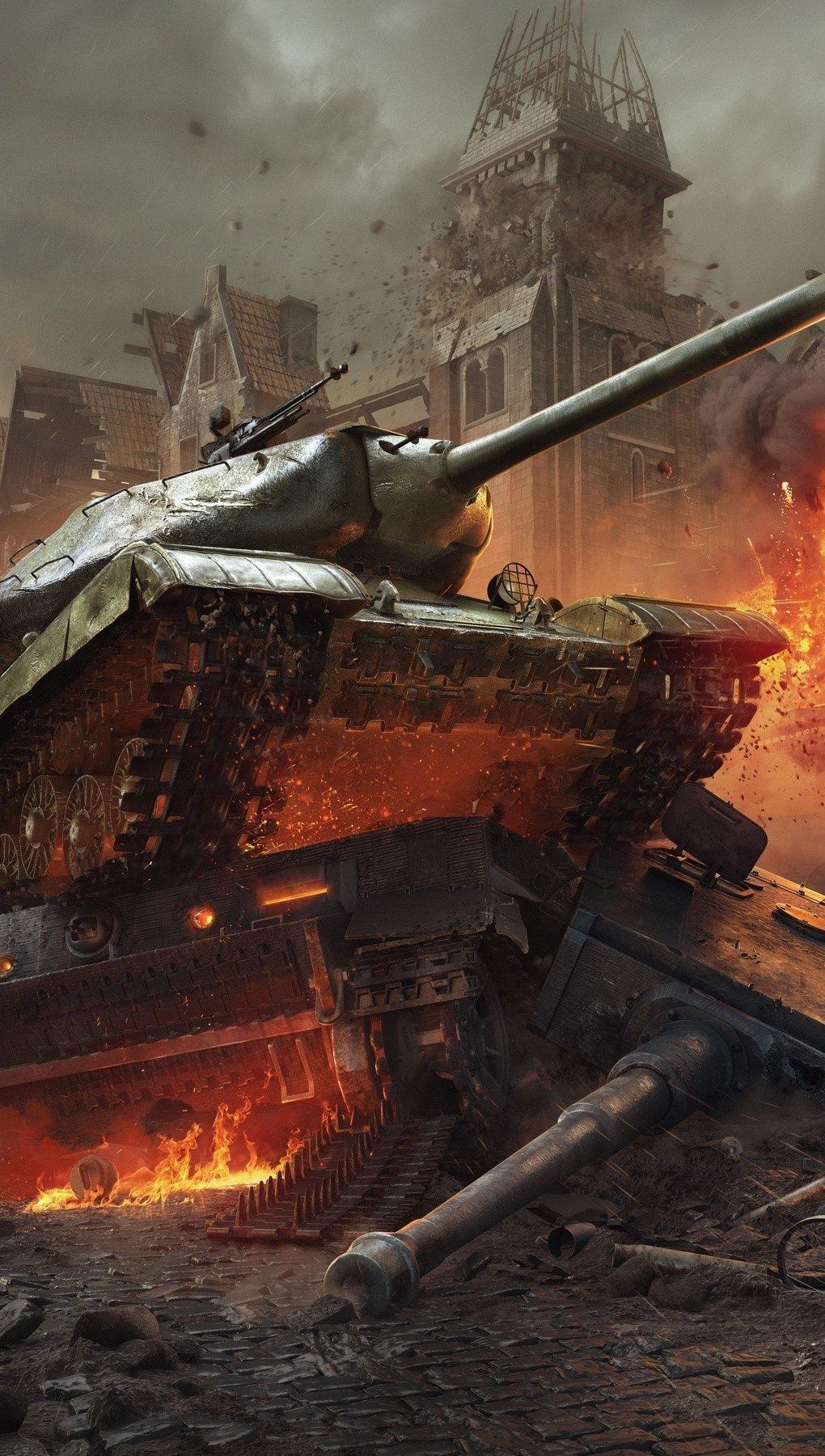 Fondos de pantalla World of tanks Vertical