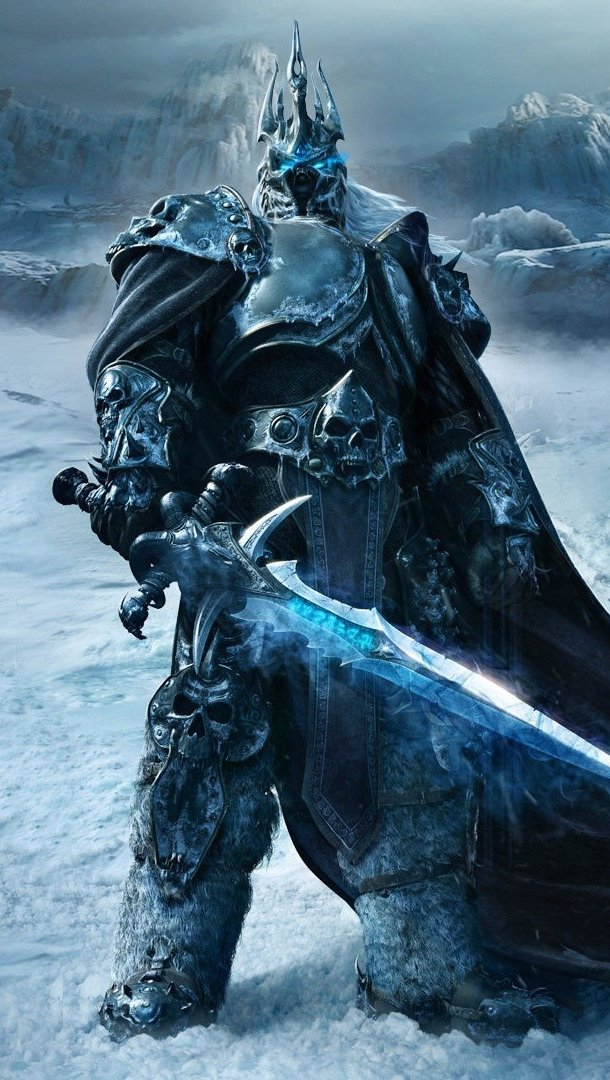 Wallpaper World of Warcraft: Wrath of the Lich King Vertical