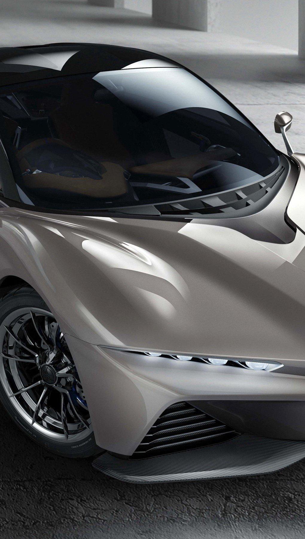 Wallpaper Yamaha Sports Ride Concept gray Vertical