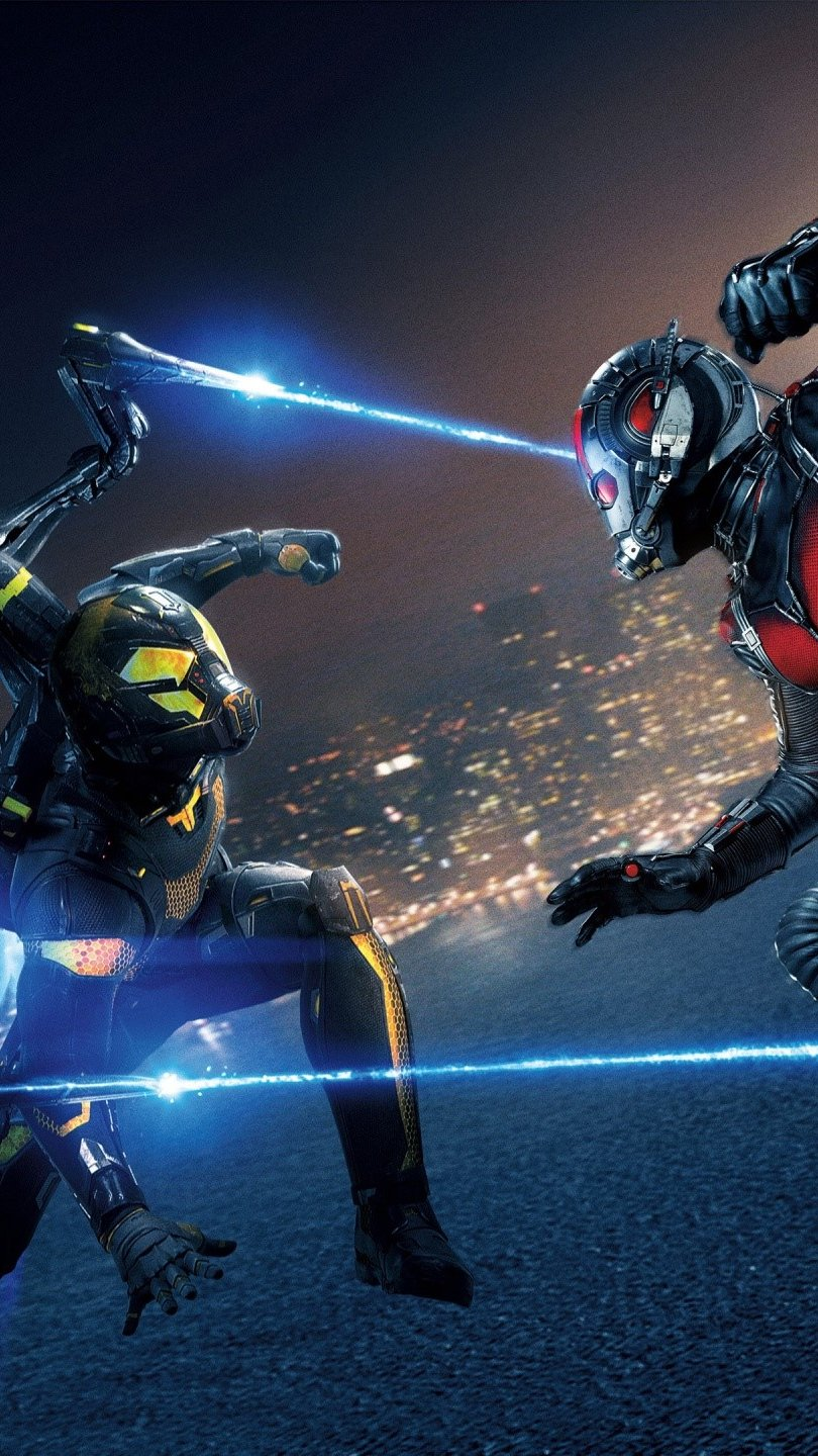 Wallpaper Yellowjacket and Ant Man Vertical