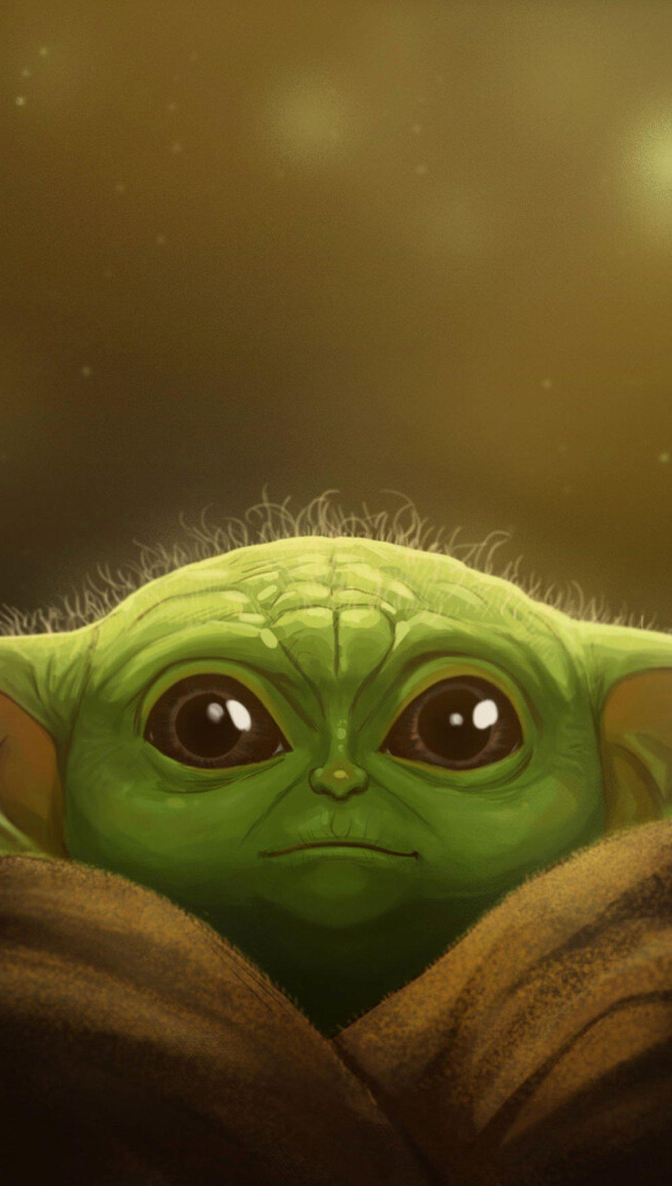 Fondos de pantalla Yoda bebé Fanart Vertical