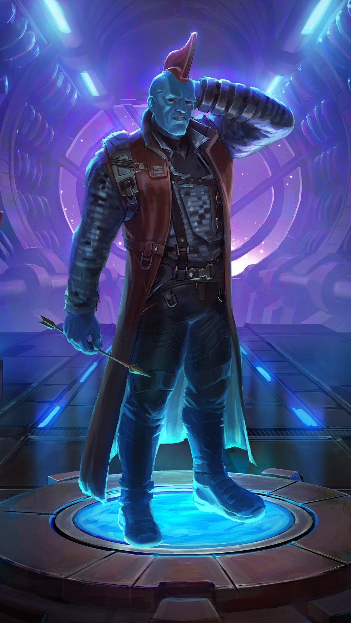 Wallpaper Yondu Marvel: Contest of Champions Vertical