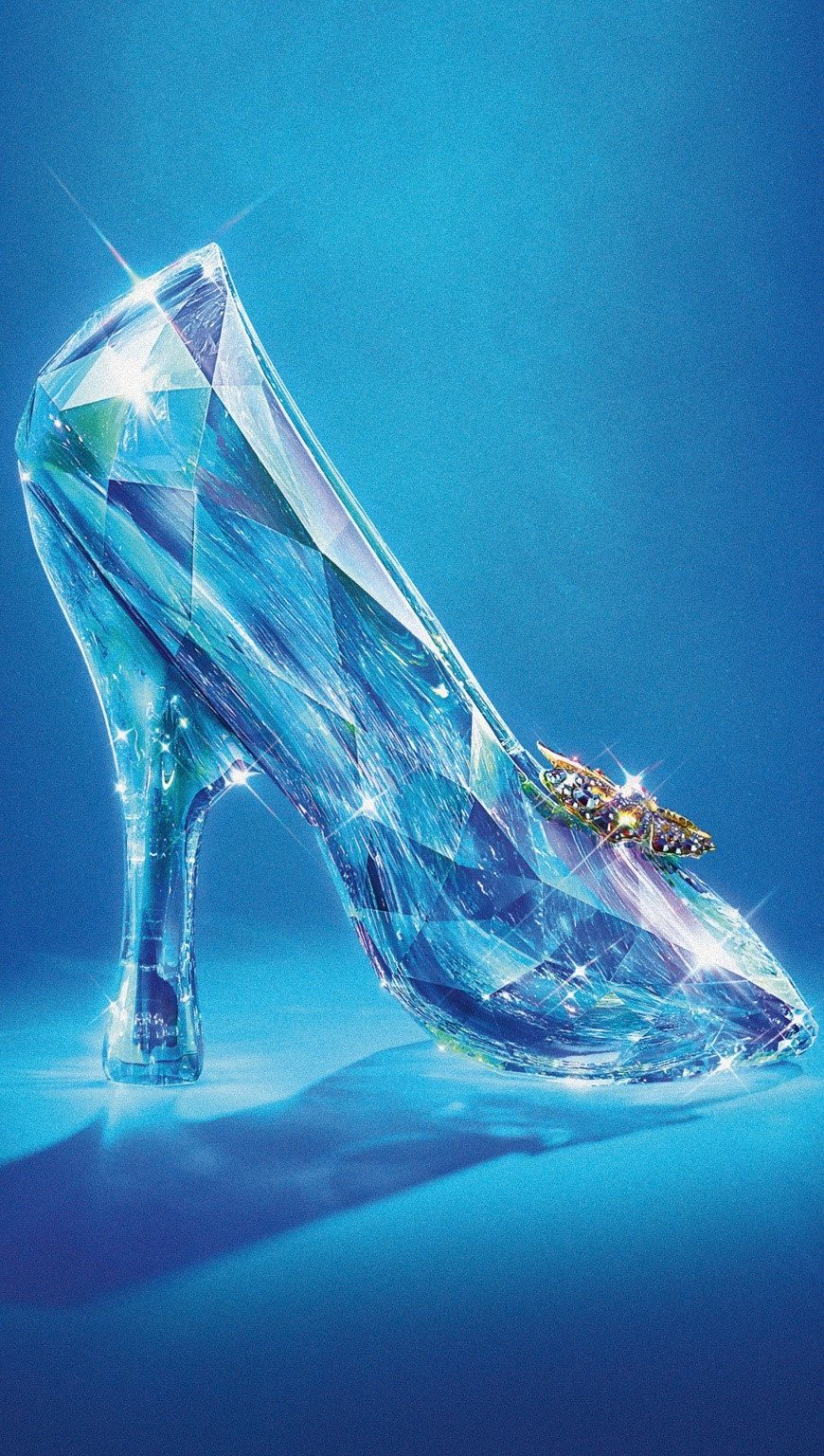 Wallpaper Cinderella slipper Vertical