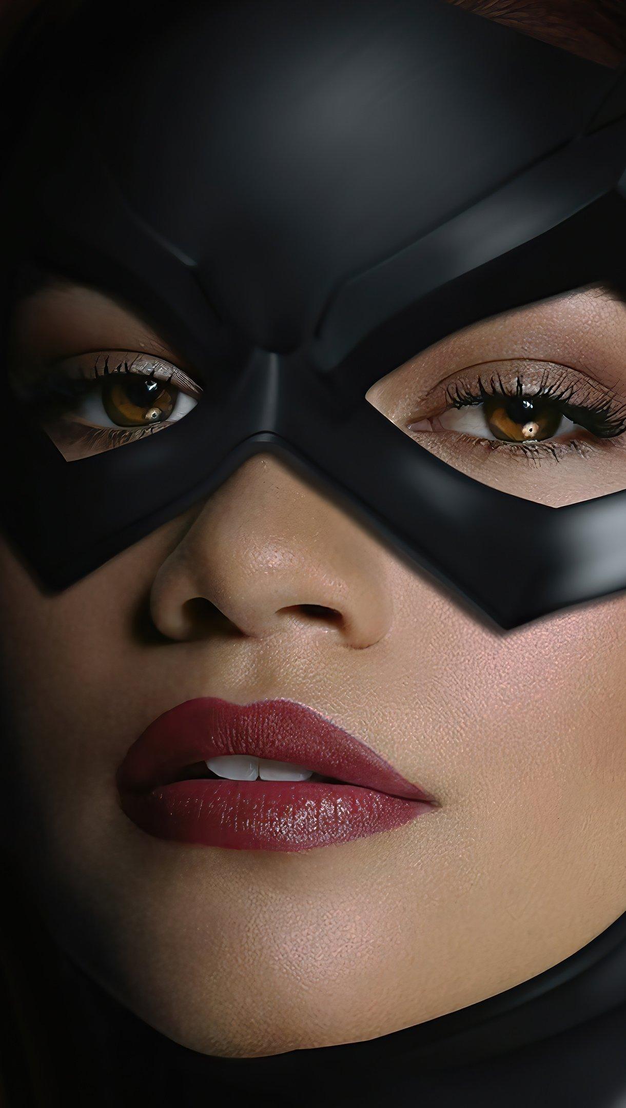 Wallpaper Zendaya as Batgirl Vertical