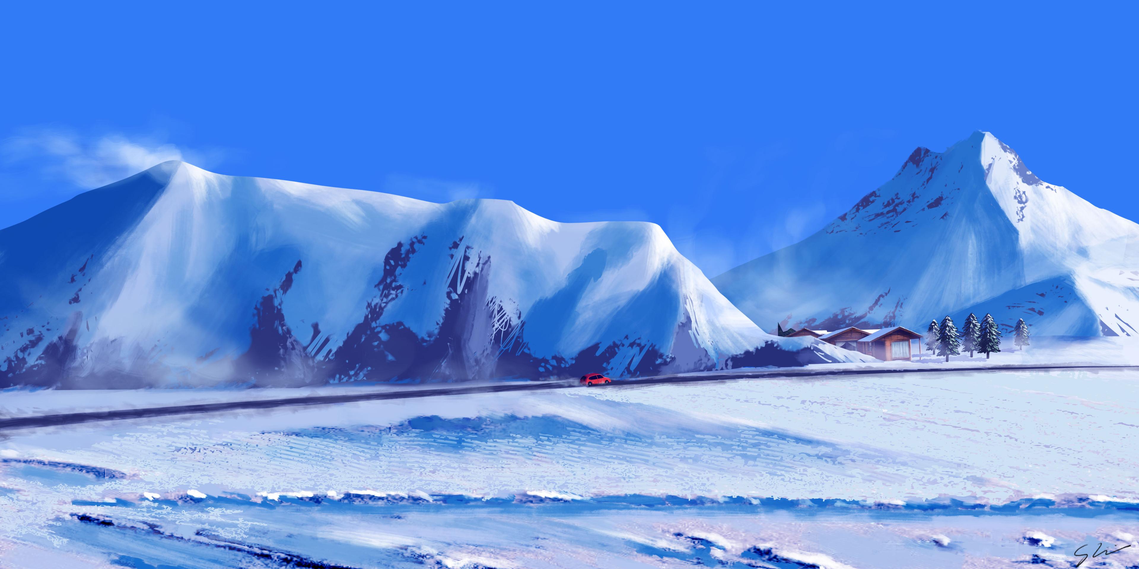 Fondos de pantalla Viaje de invierno