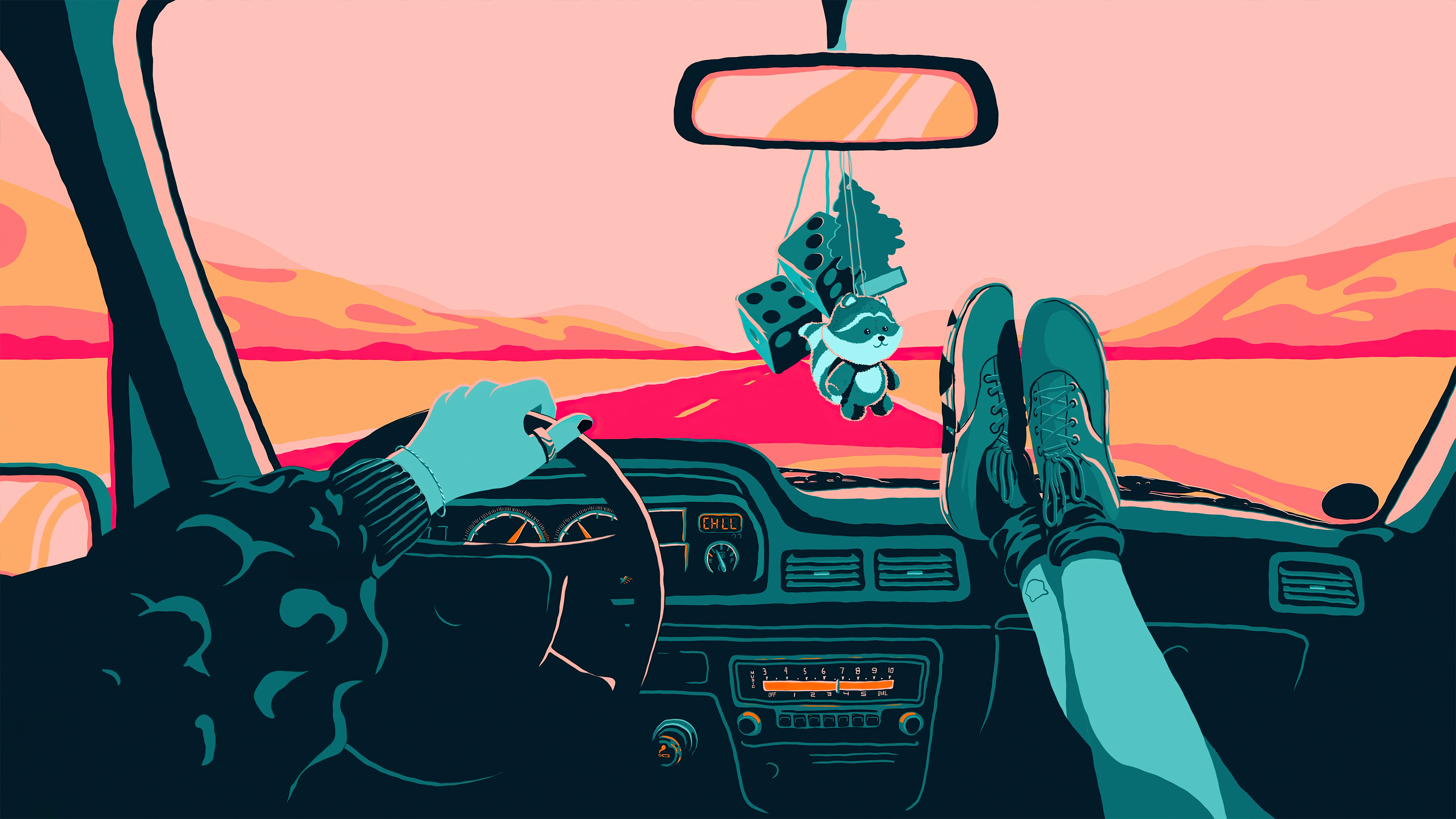 Fondos de pantalla Viaje en carretera
