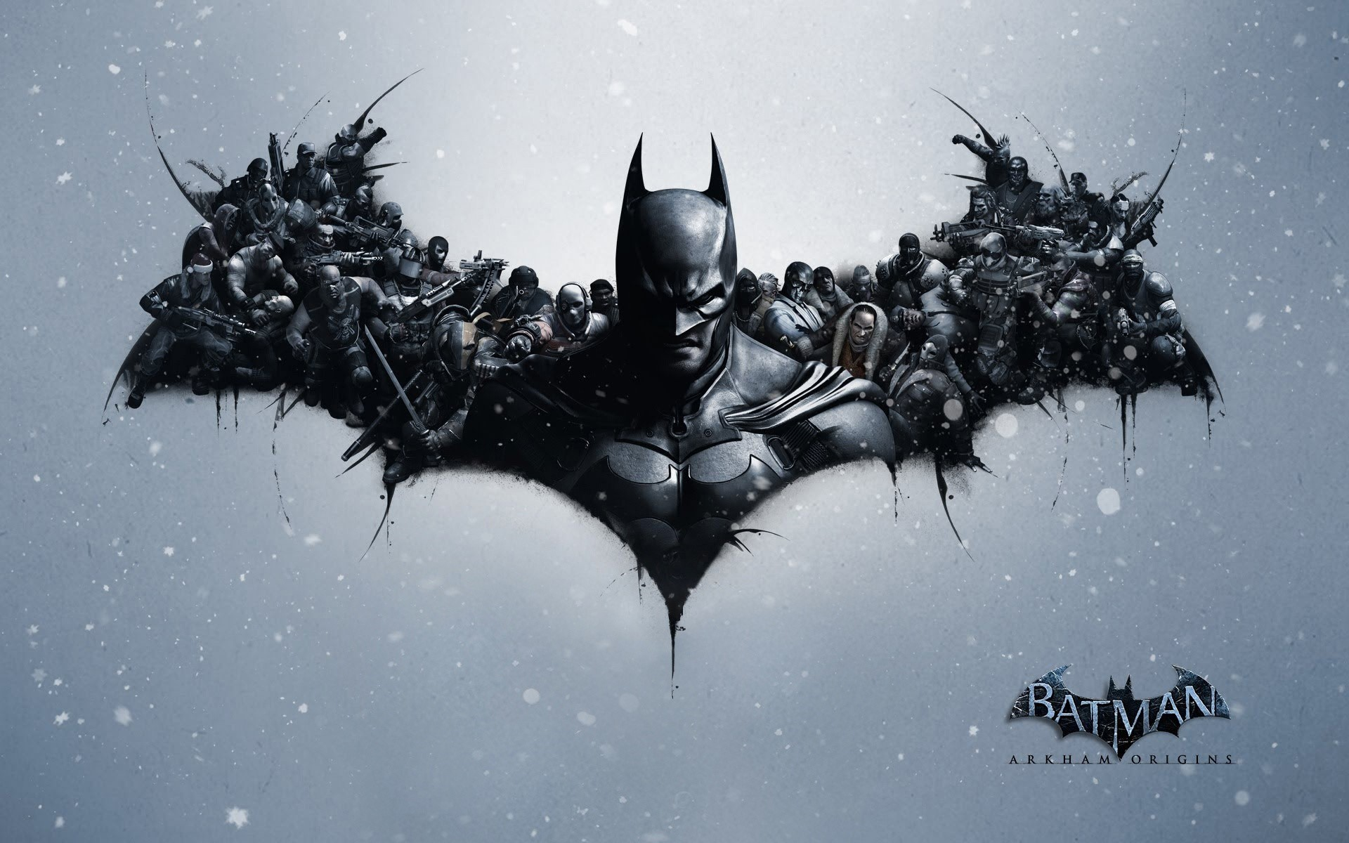 Wallpaper Video game Batman Arkham origins