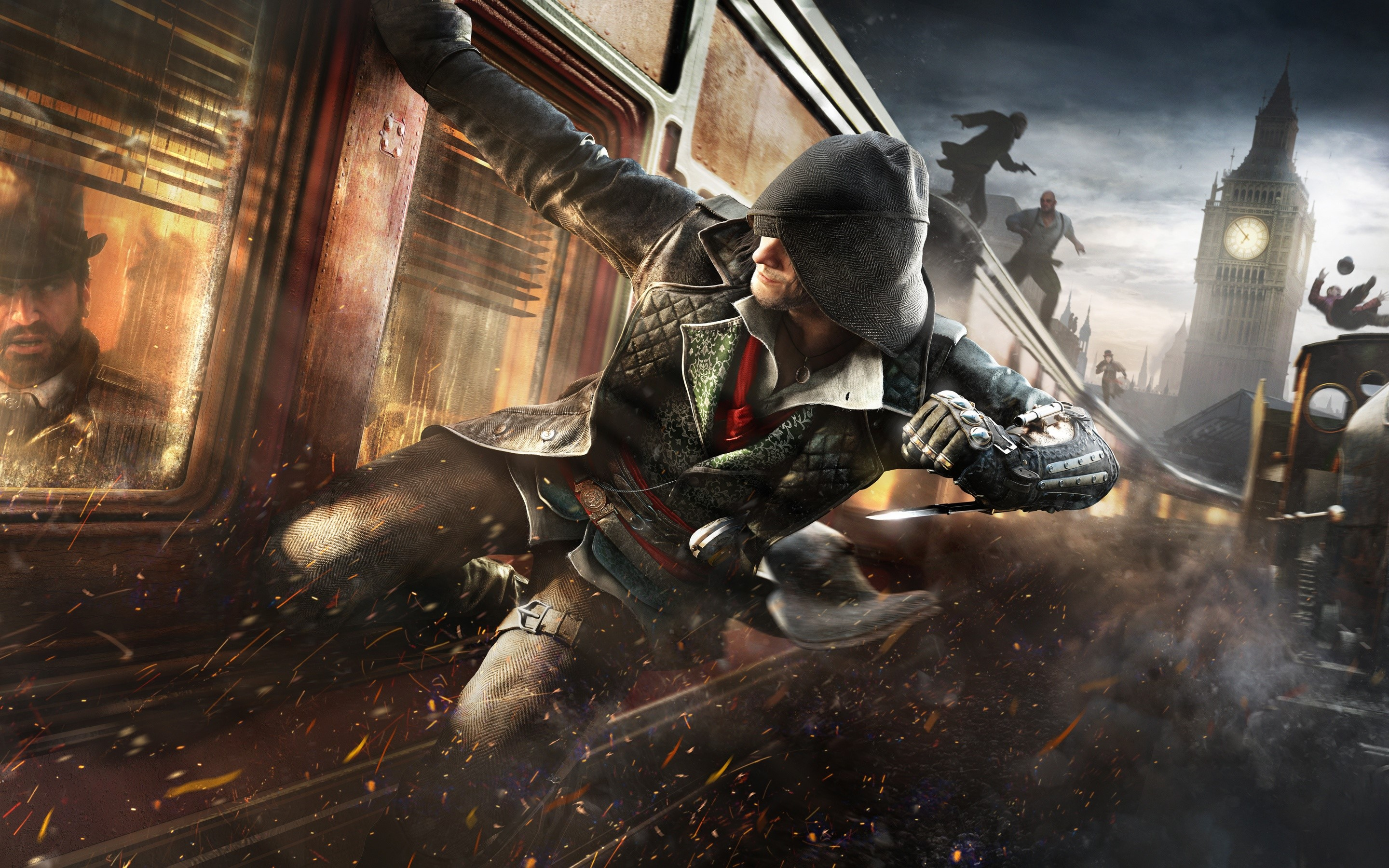 Wallpaper Video game Assassins Creed Syndicate
