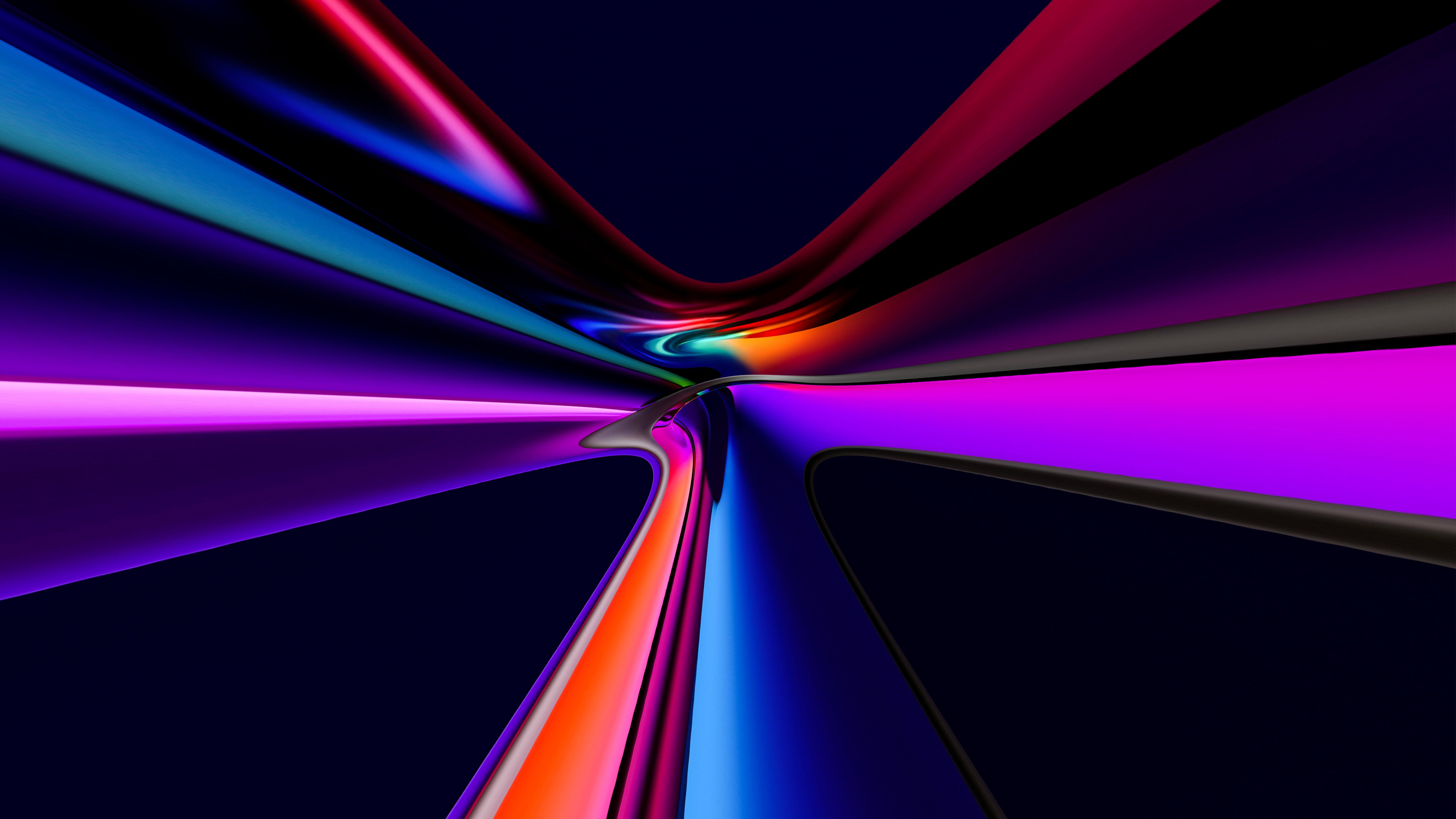 Fondos de pantalla Vidrio mezclado de colores