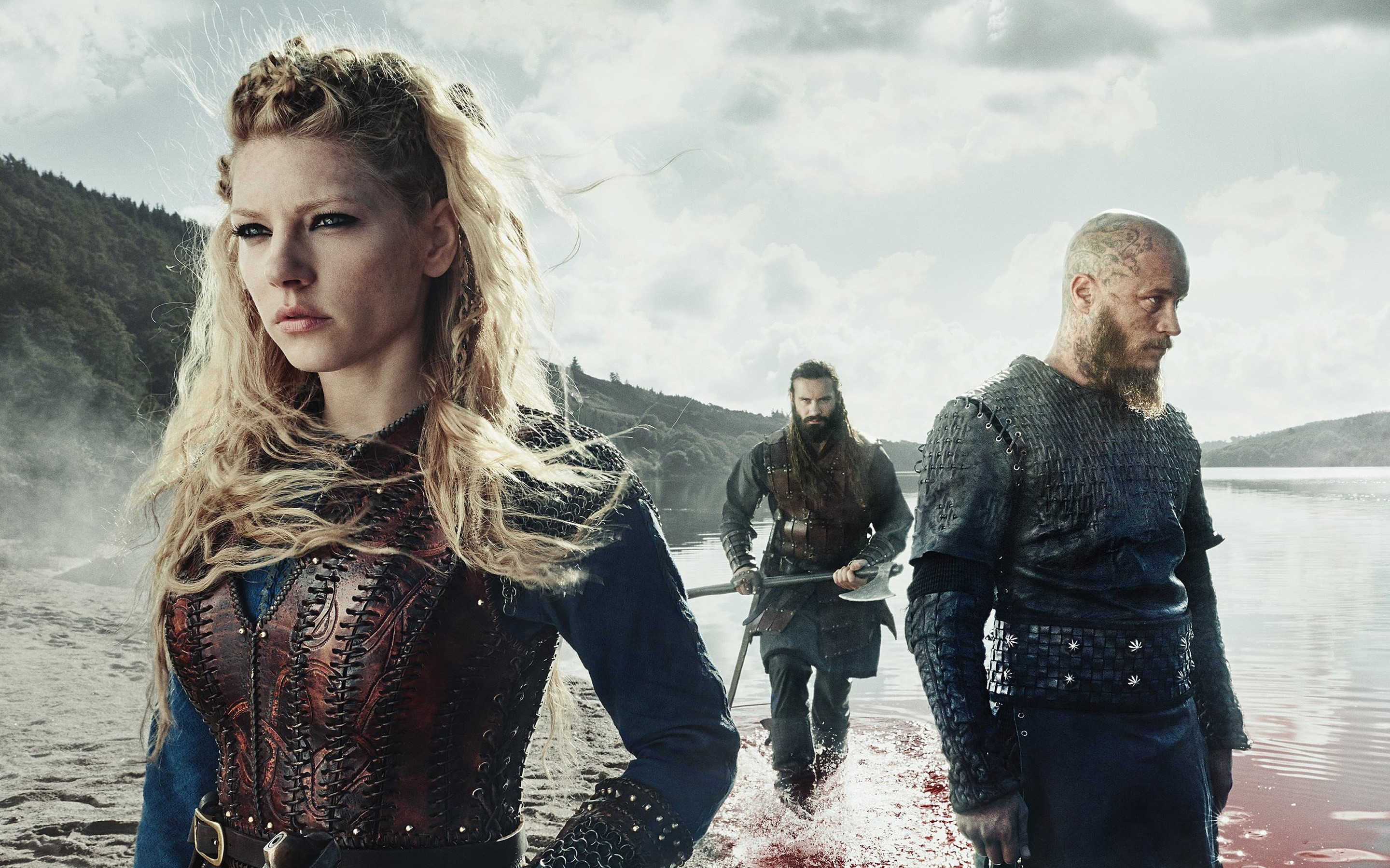 Wallpaper Vikings Season 3