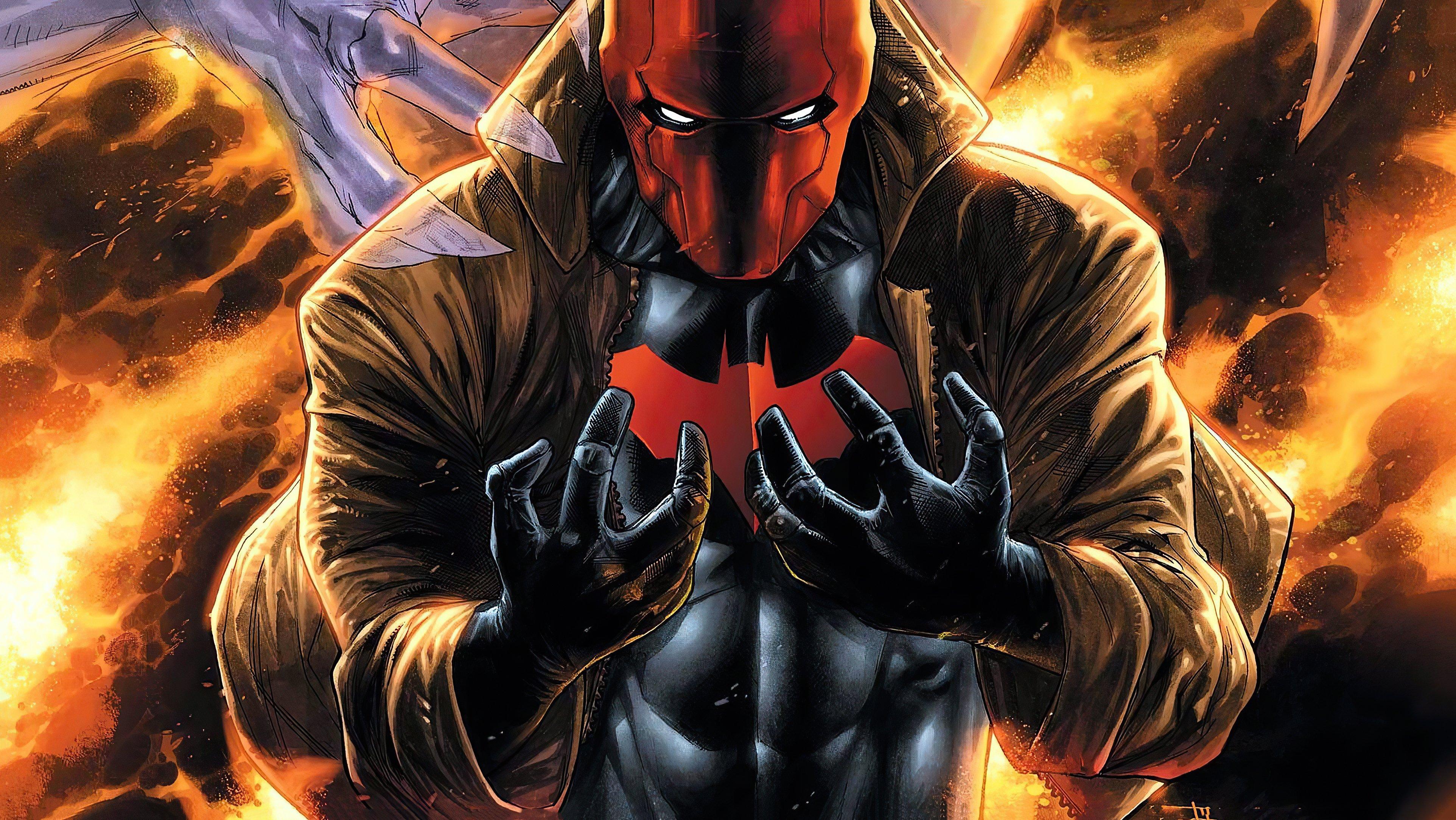 Wallpaper Red Hood Villain