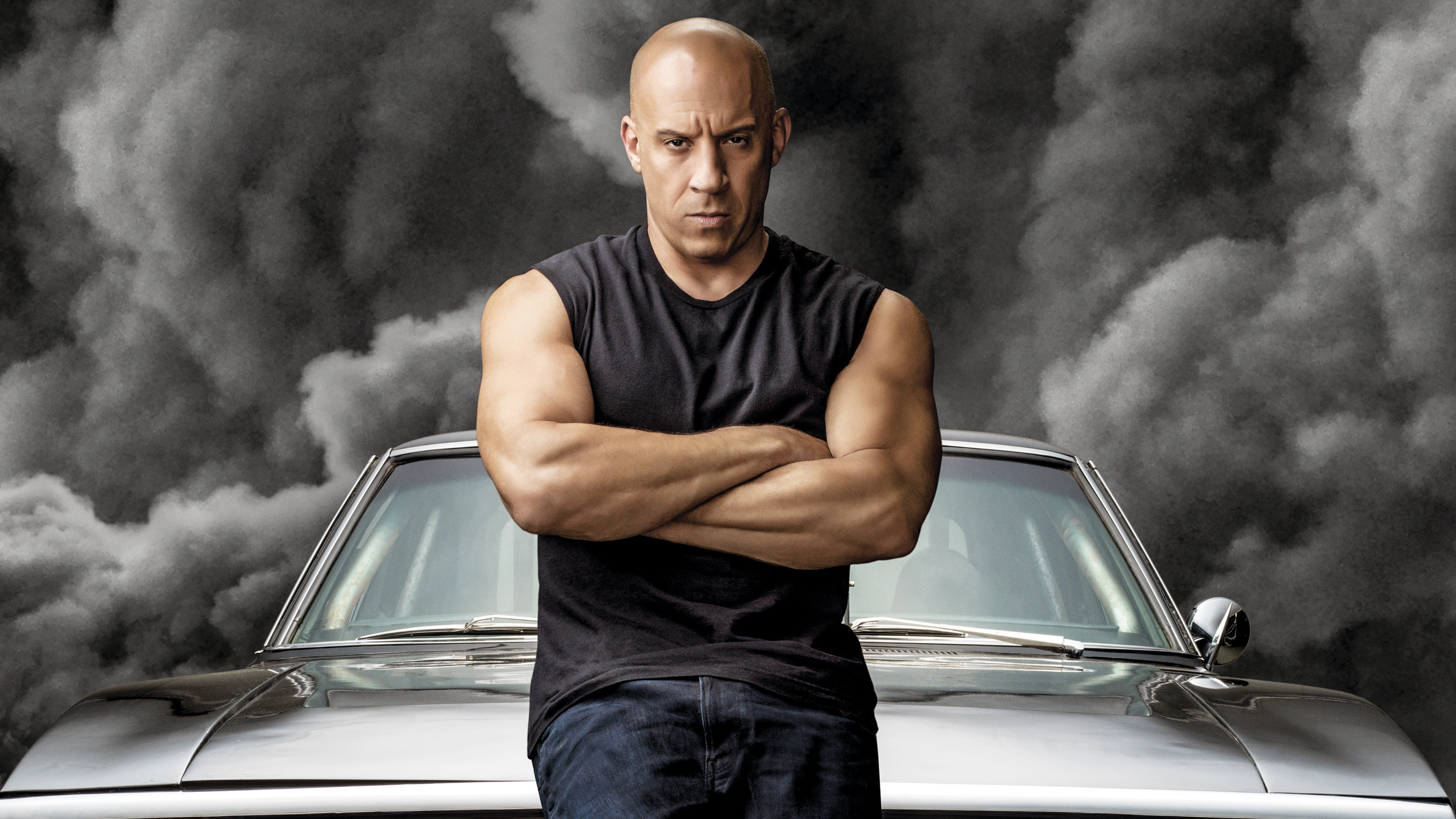 Wallpaper Vin Diesel  as Dominic Toretto in Fast and Furious 9