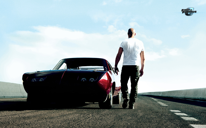 Wallpaper Vin Diesel in Fast and Furious 6