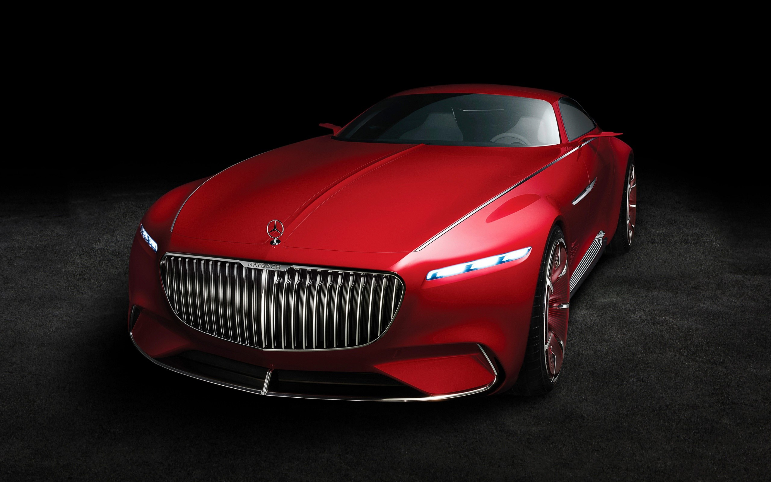 Wallpaper Vision Mercedes Maybach 6