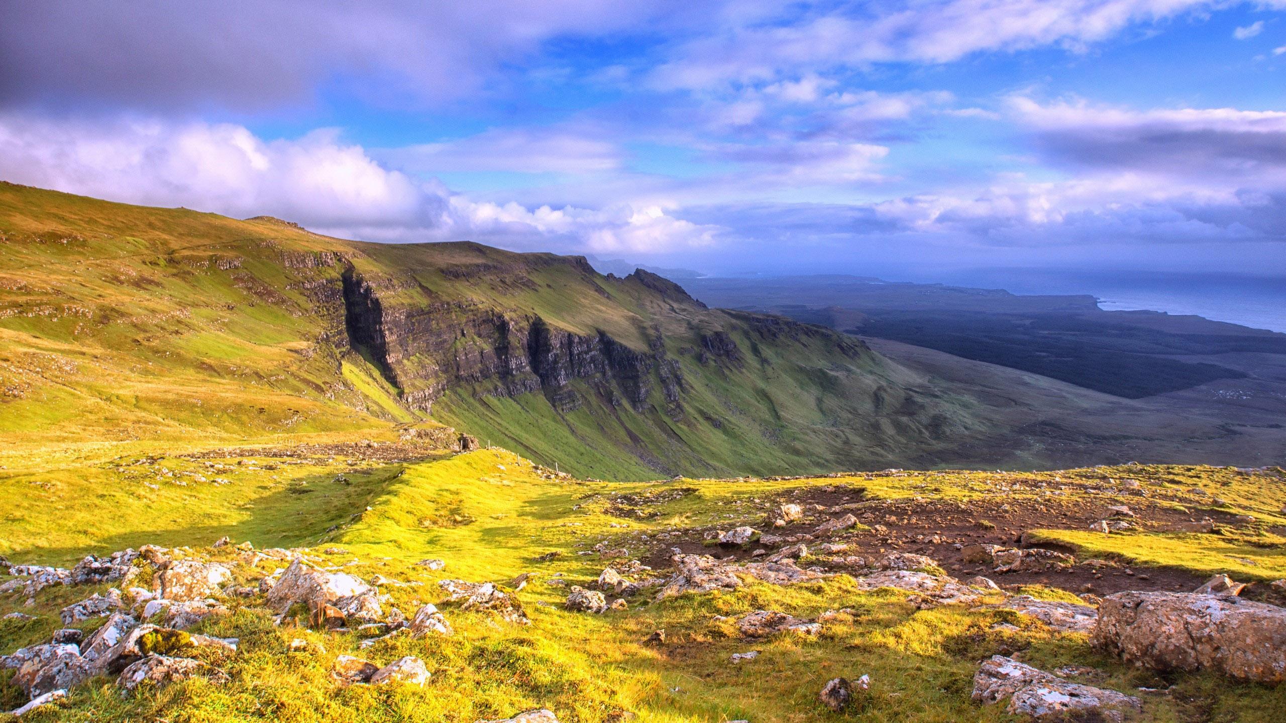 Wallpaper Panoramic view of Isle of Skye