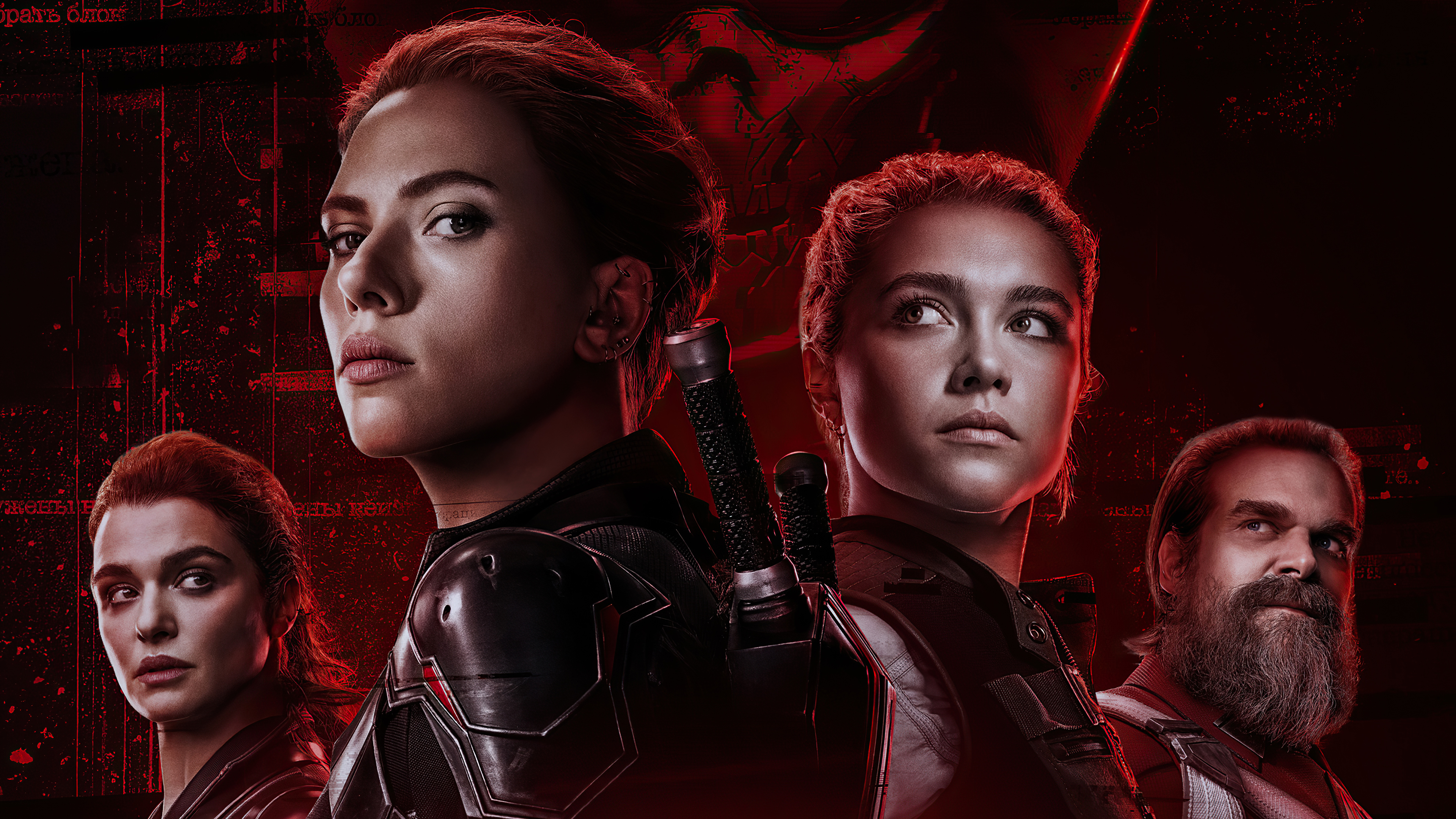Wallpaper Black Widow Movie 2021