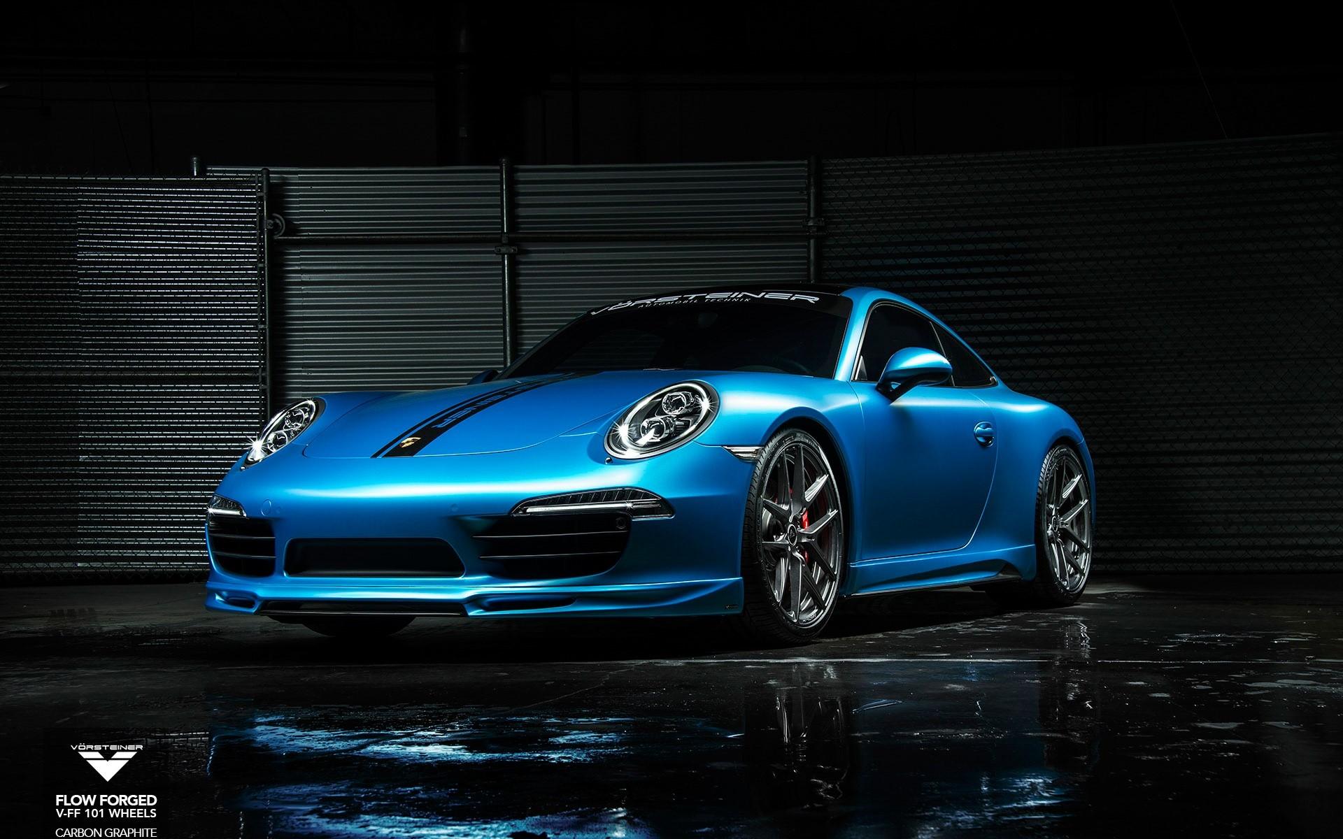 Wallpaper Vorsteiner Porsche 911
