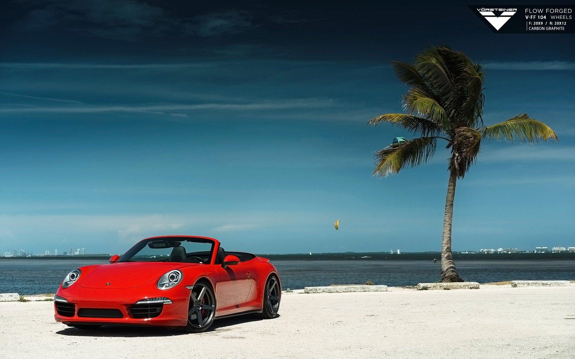 Wallpaper Vorsteiner Porsche 911 Carrera 4S VFF 104