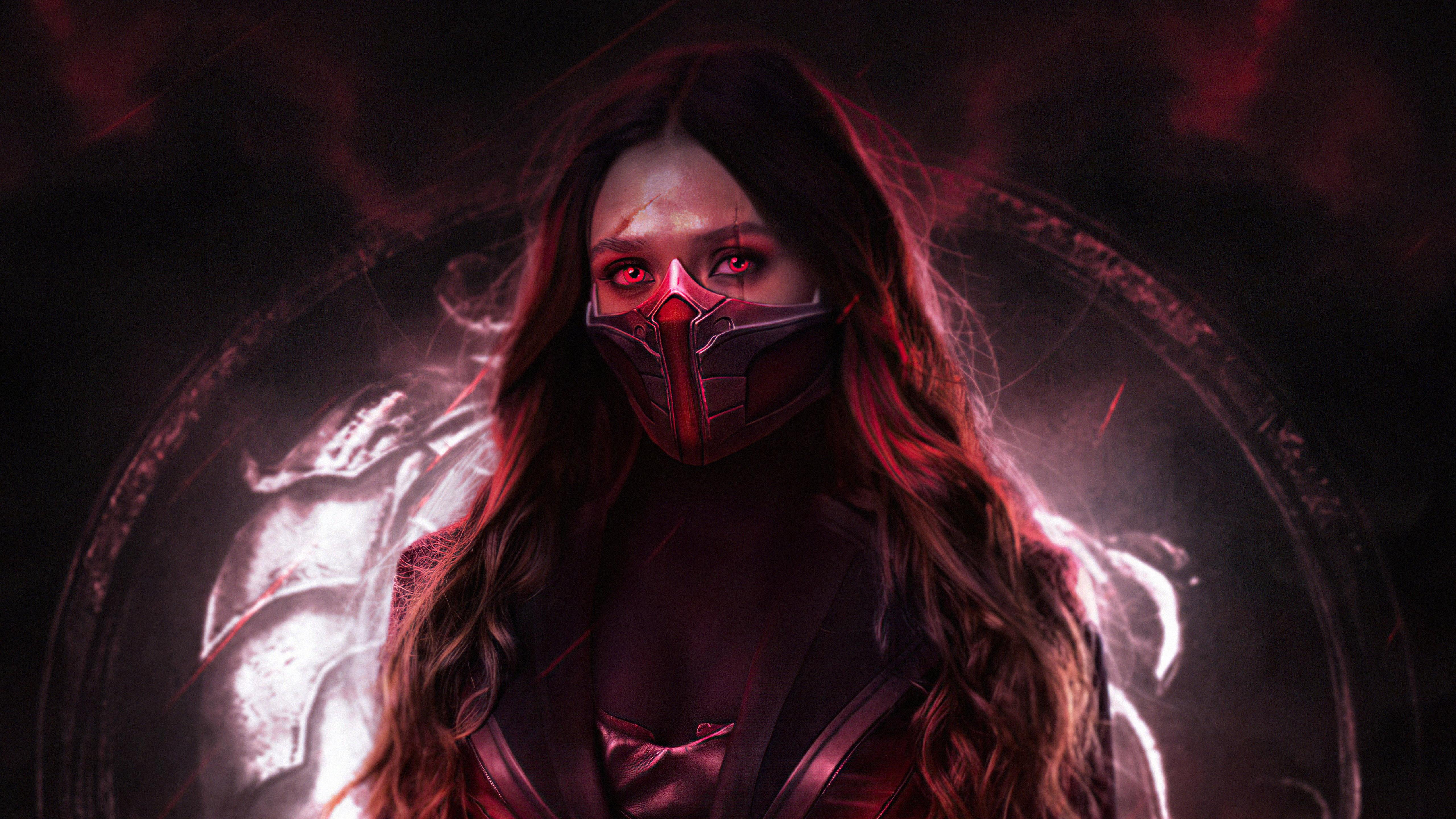 Wallpaper Wanda Scarlet Witch