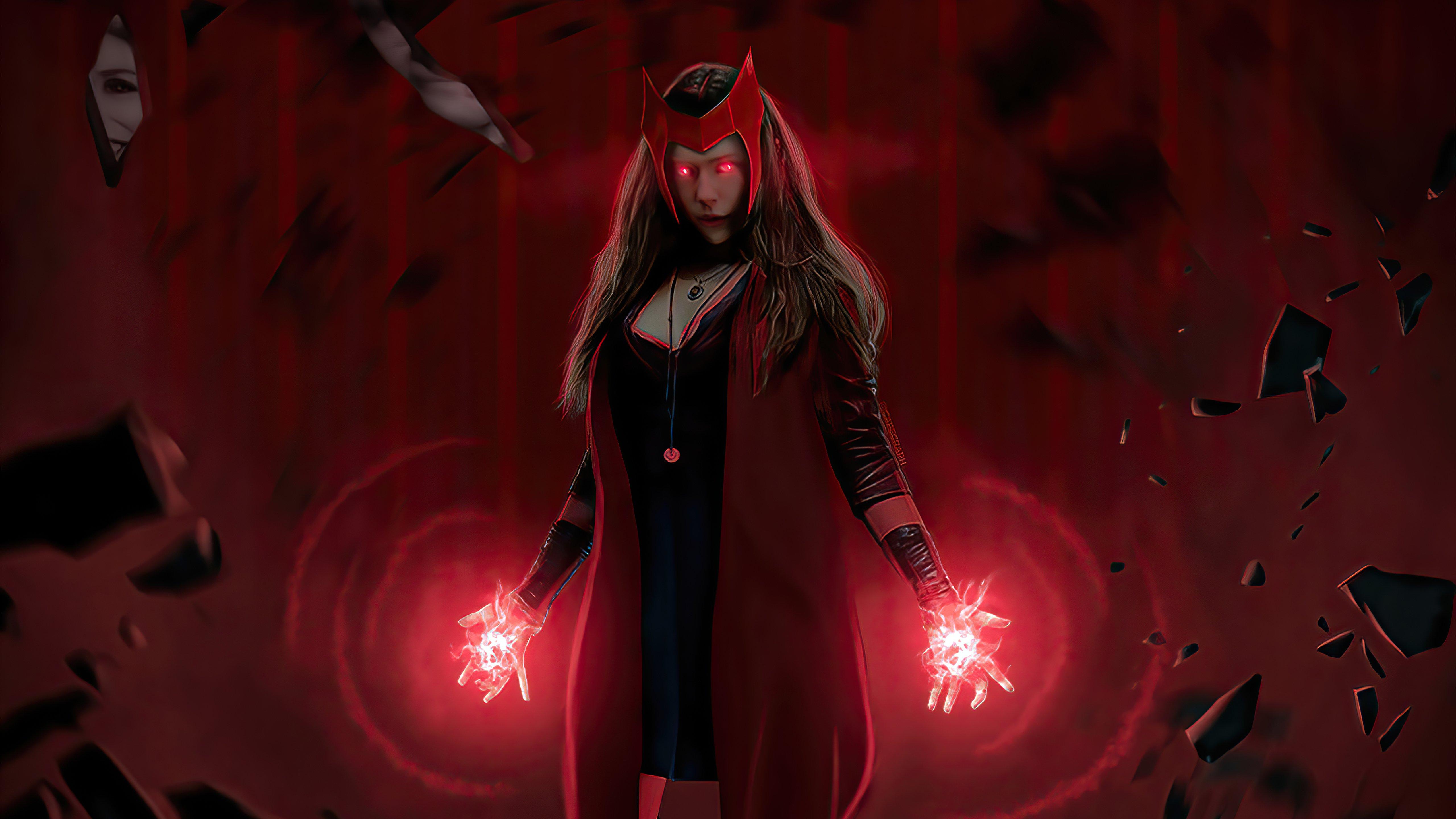 Fondos de pantalla Wanda usando sus poderes