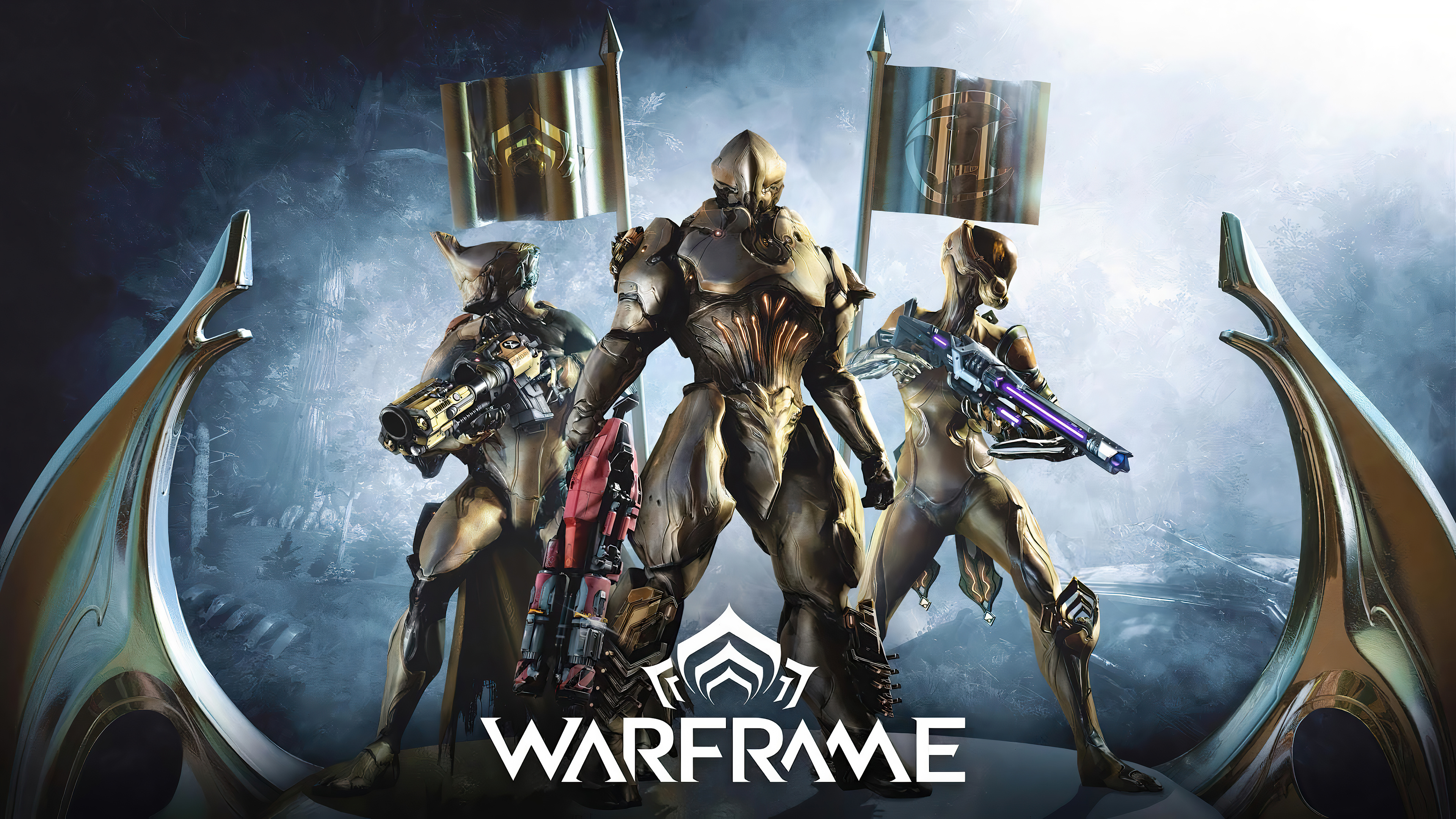 Wallpaper Warframe unreal tournament