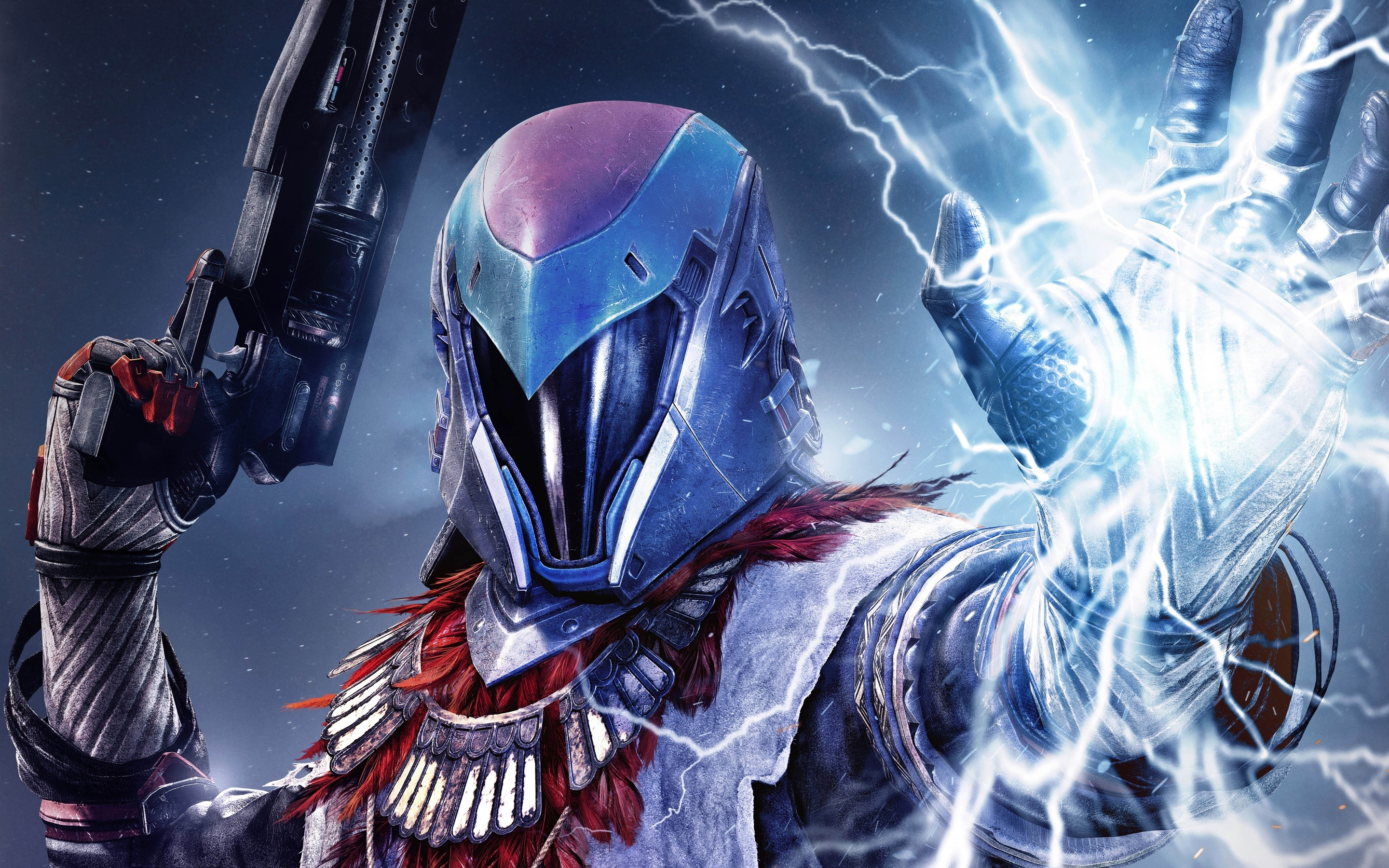 Wallpaper Warlock on Destiny The Taken King