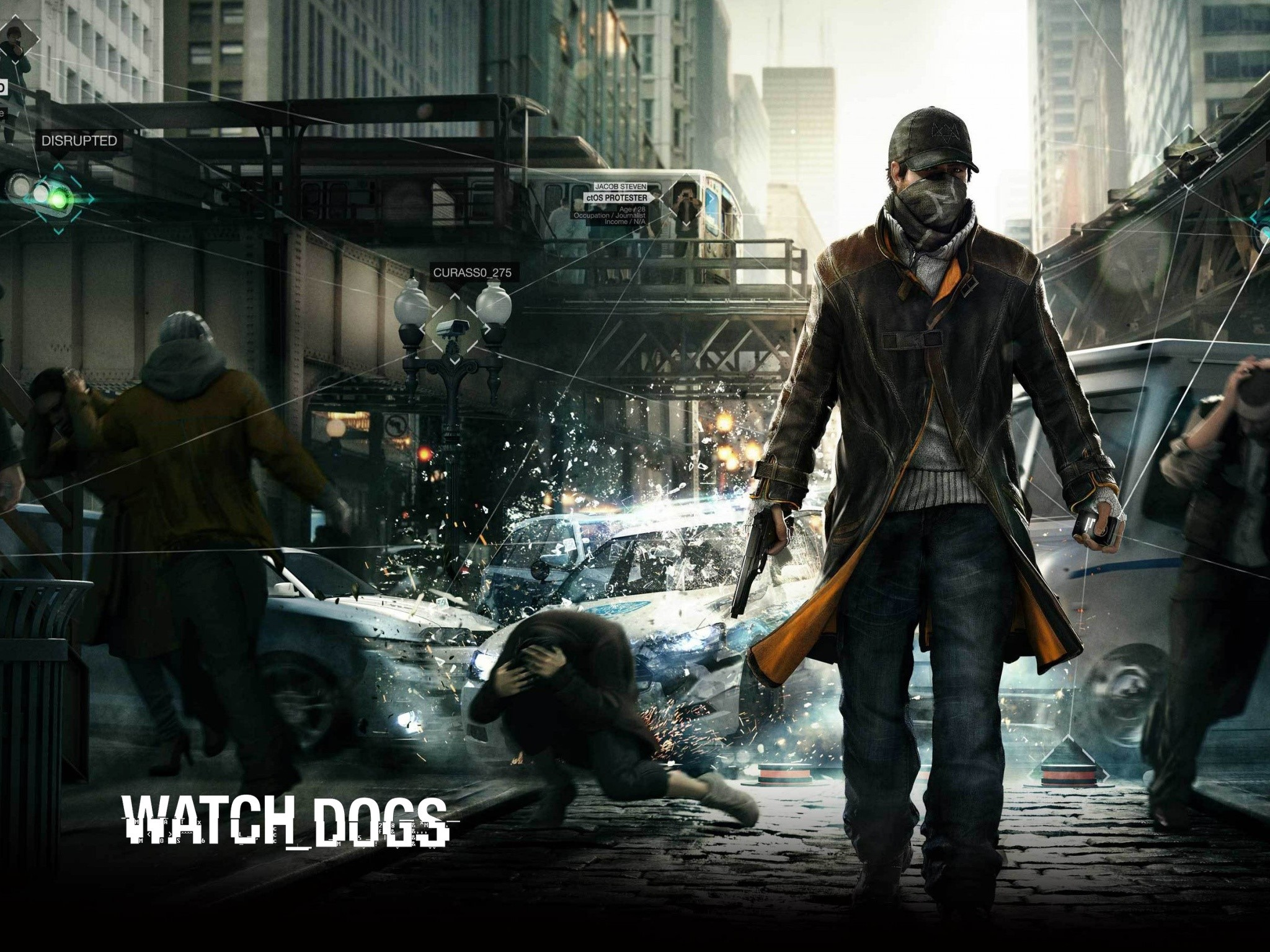Wallpaper Watch dogs game