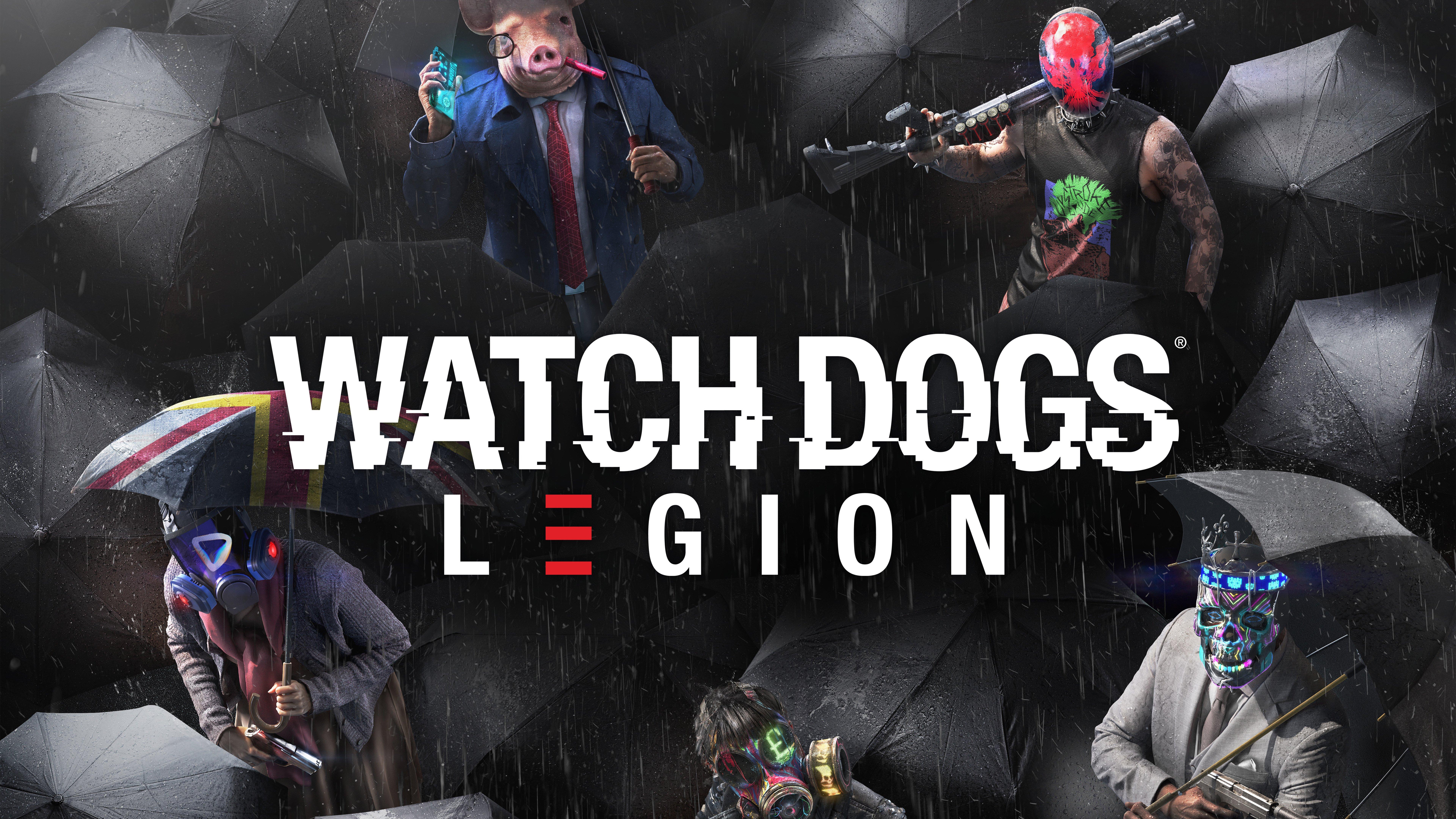 Fondos de pantalla Watch Dogs Legion Personajes Máscara