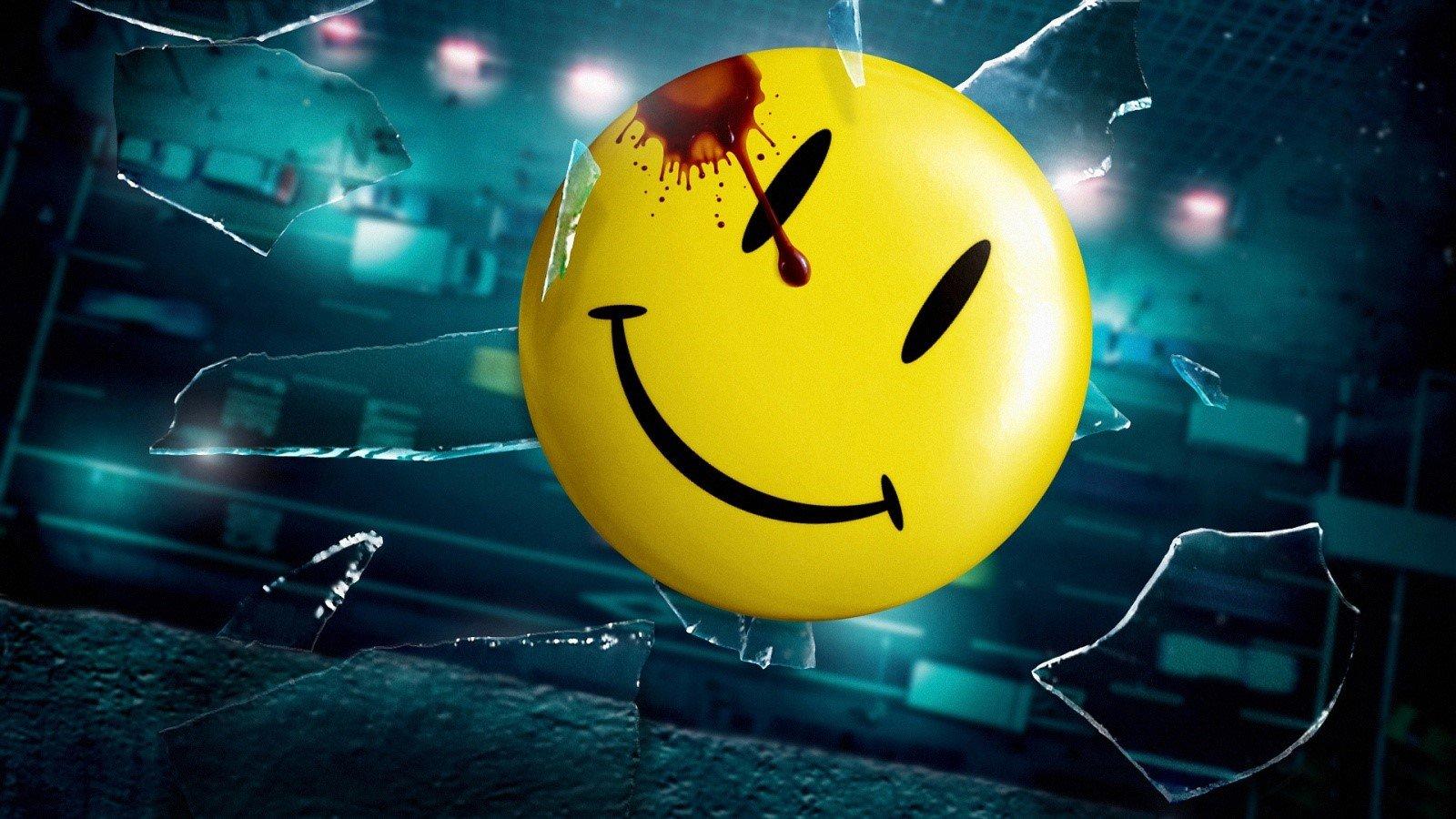 Wallpaper Watchmen smiley