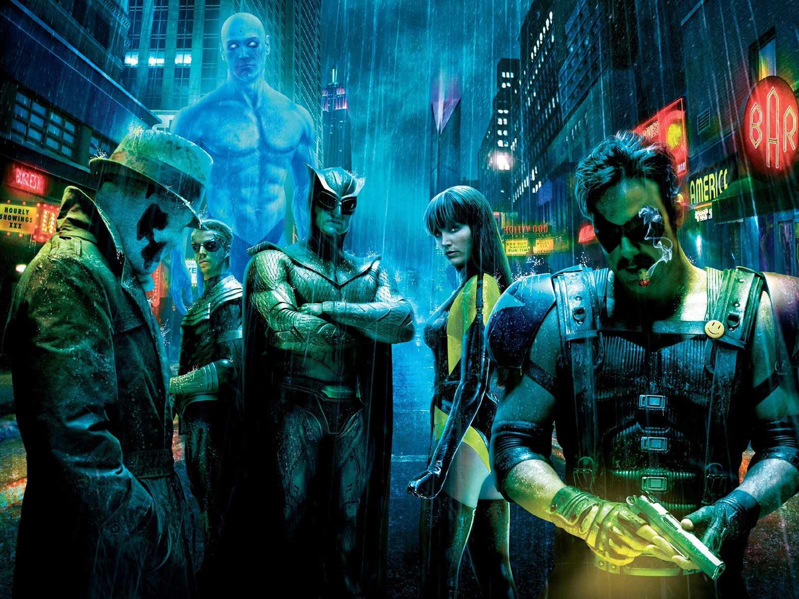 Wallpaper Who watch the Watchmen