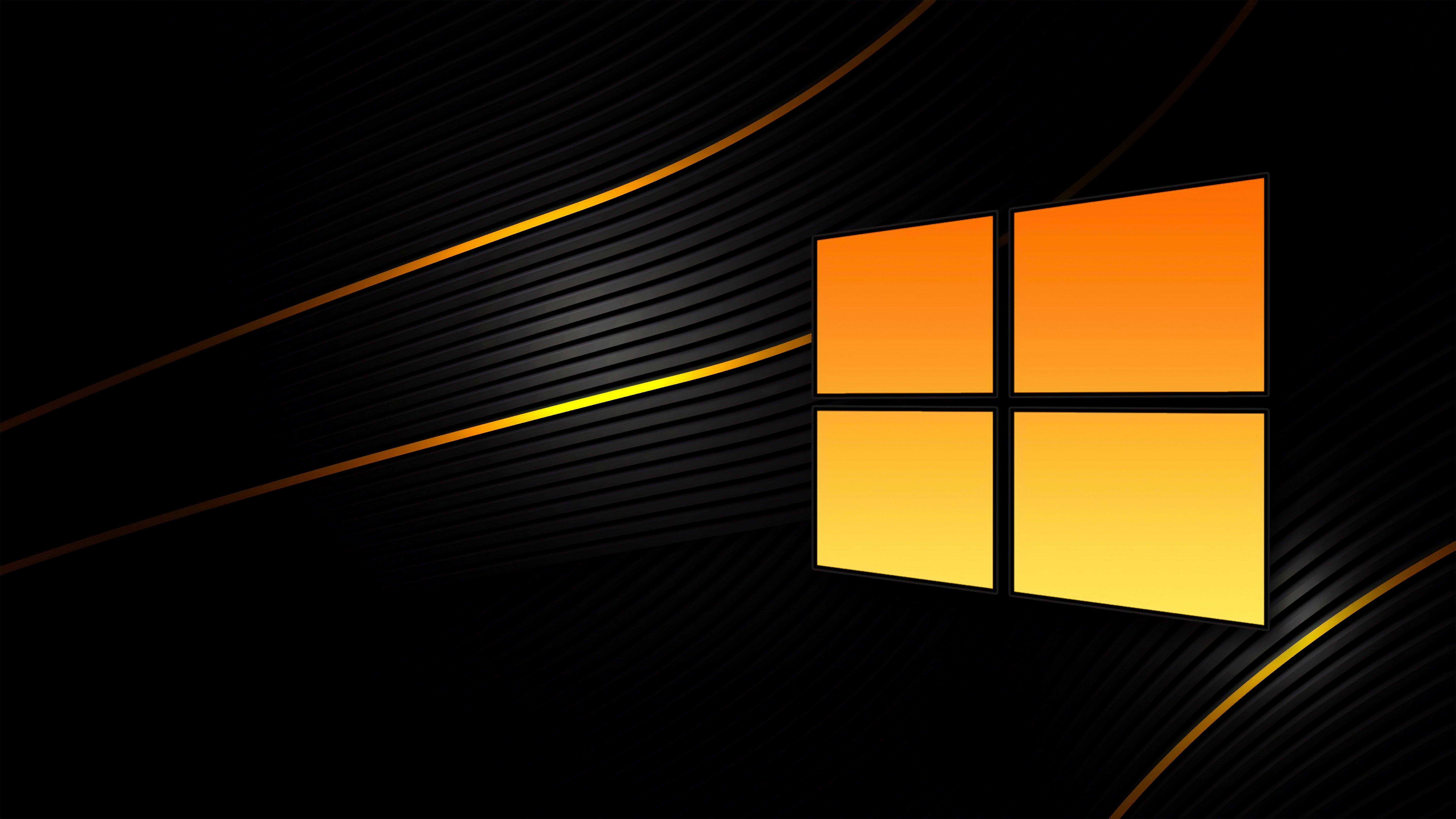 Fondos de pantalla Windows 10 Negro