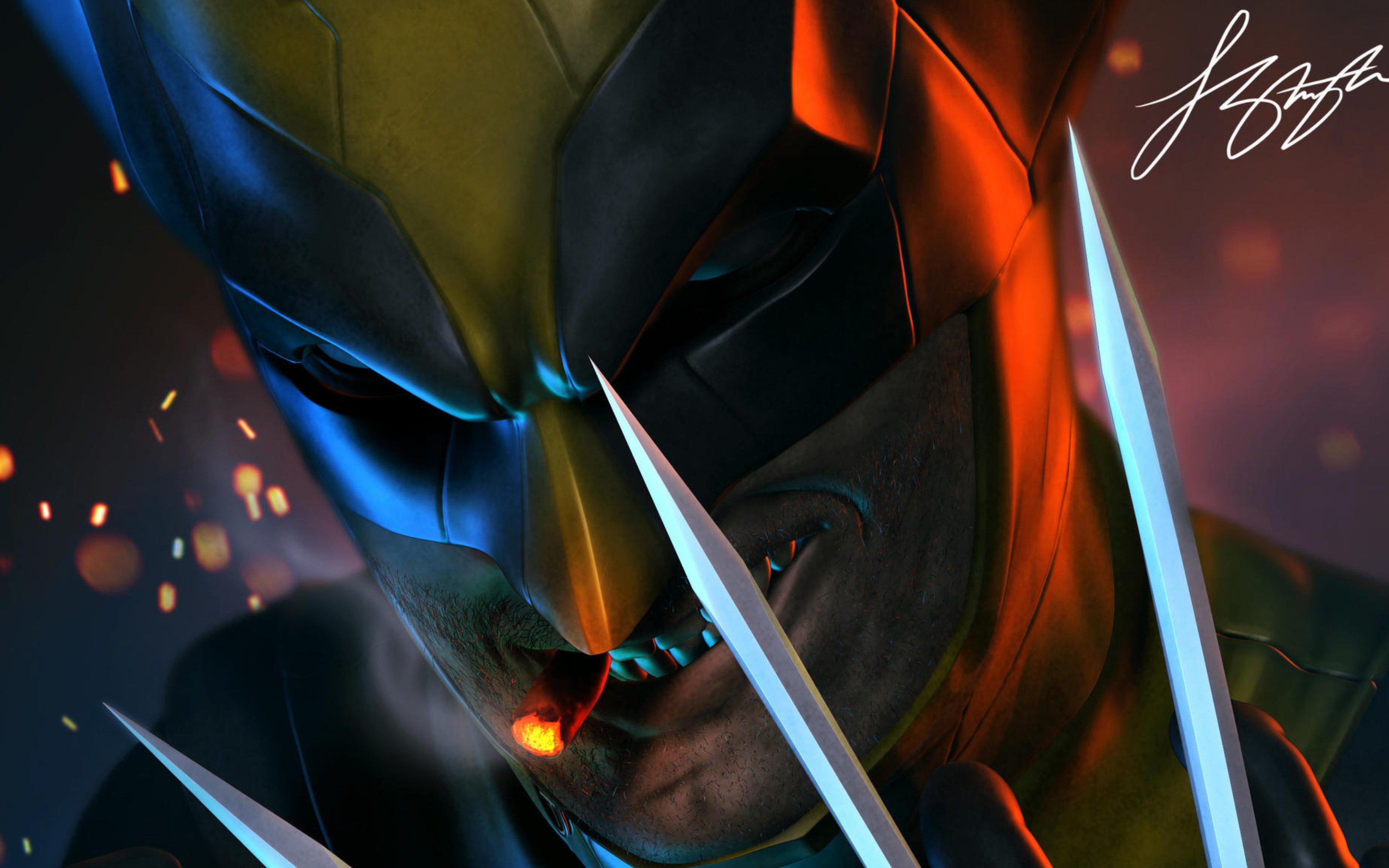 Fondos de pantalla Wolverine Arte Digital