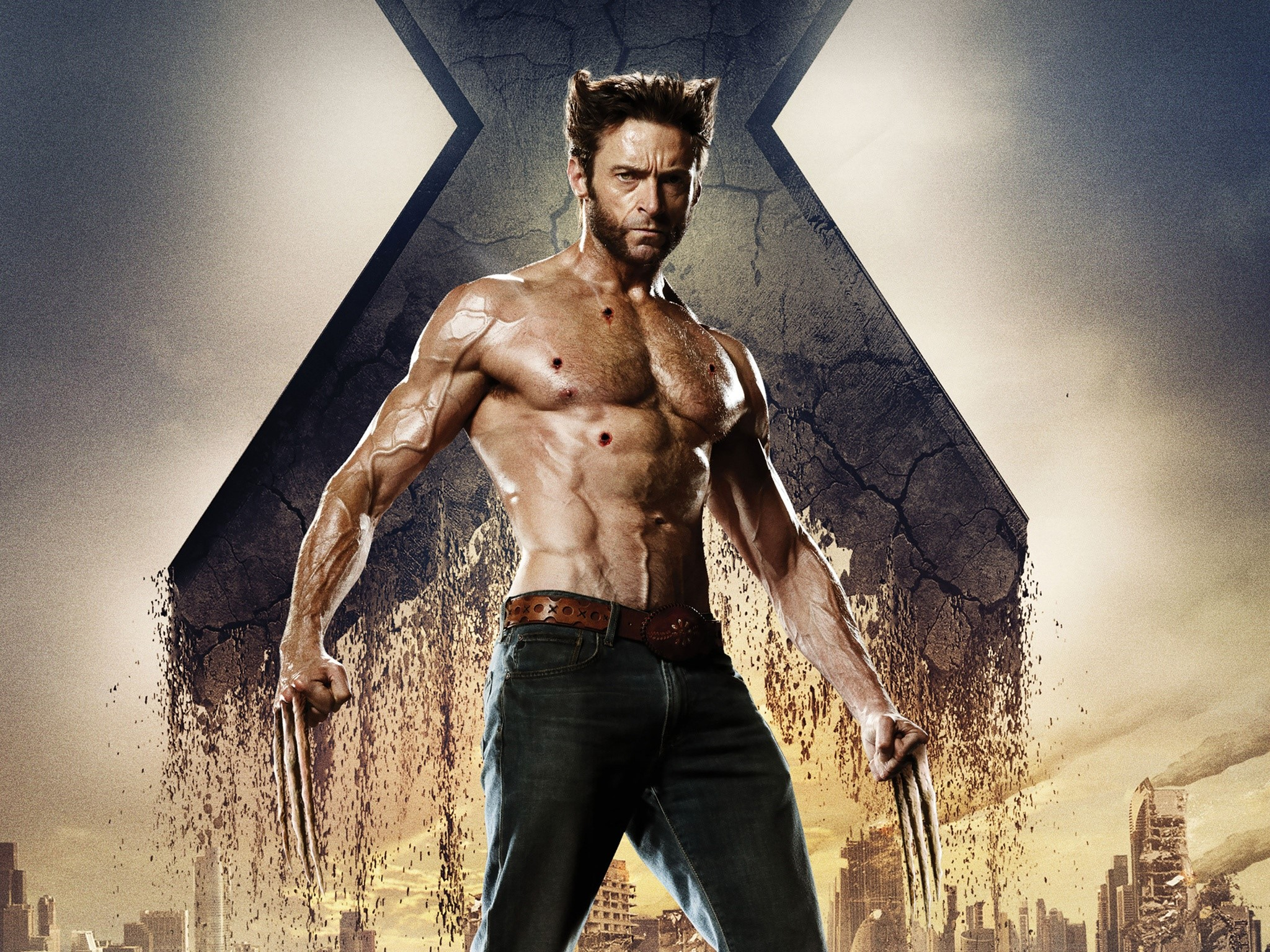 Wallpaper Wolverine in Xmen Days of the future past