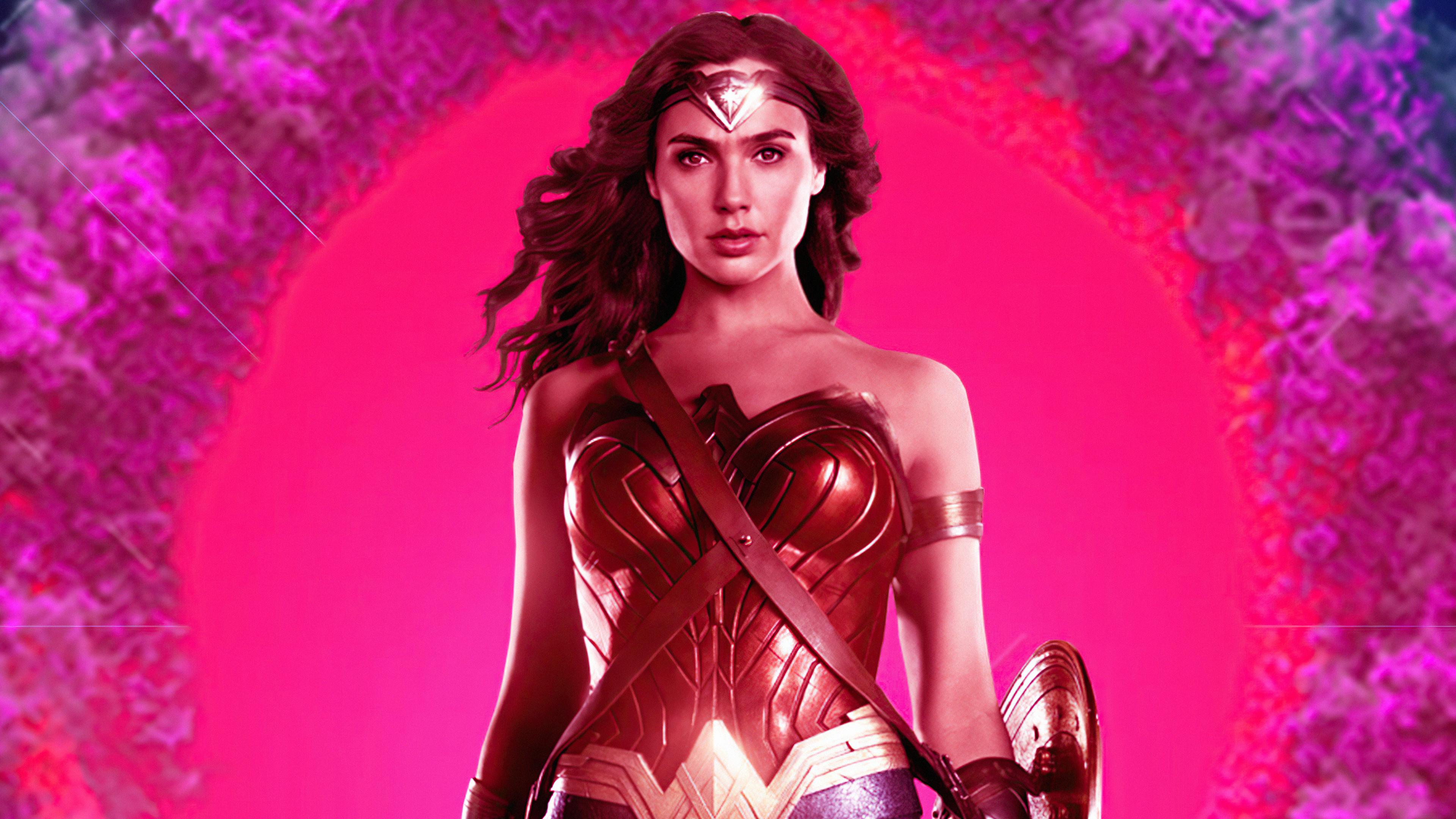 Wallpaper Wonder Woman 84 Retro