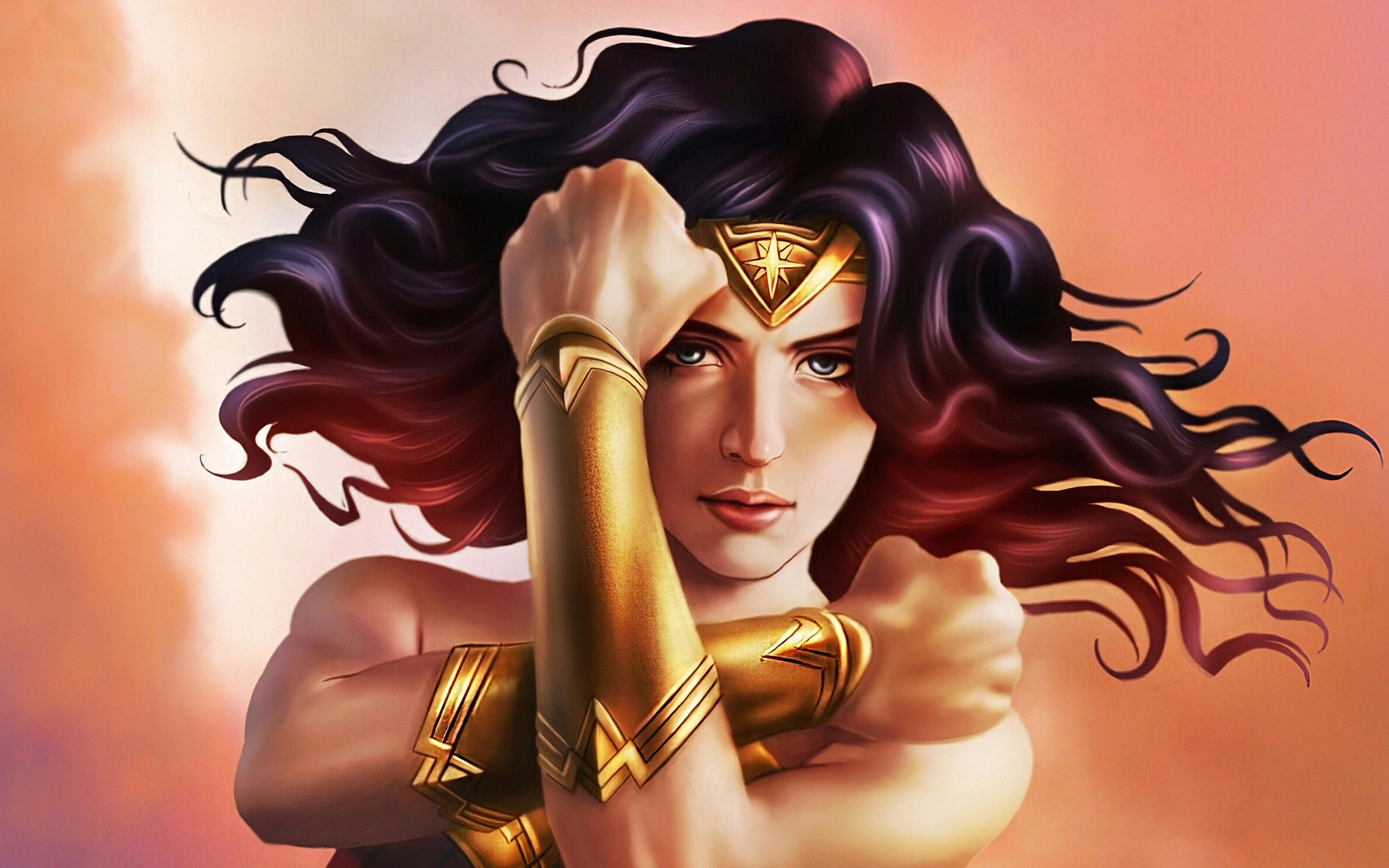 Wonder Woman Fanart Wallpaper 4k Ultra Hd Id4349